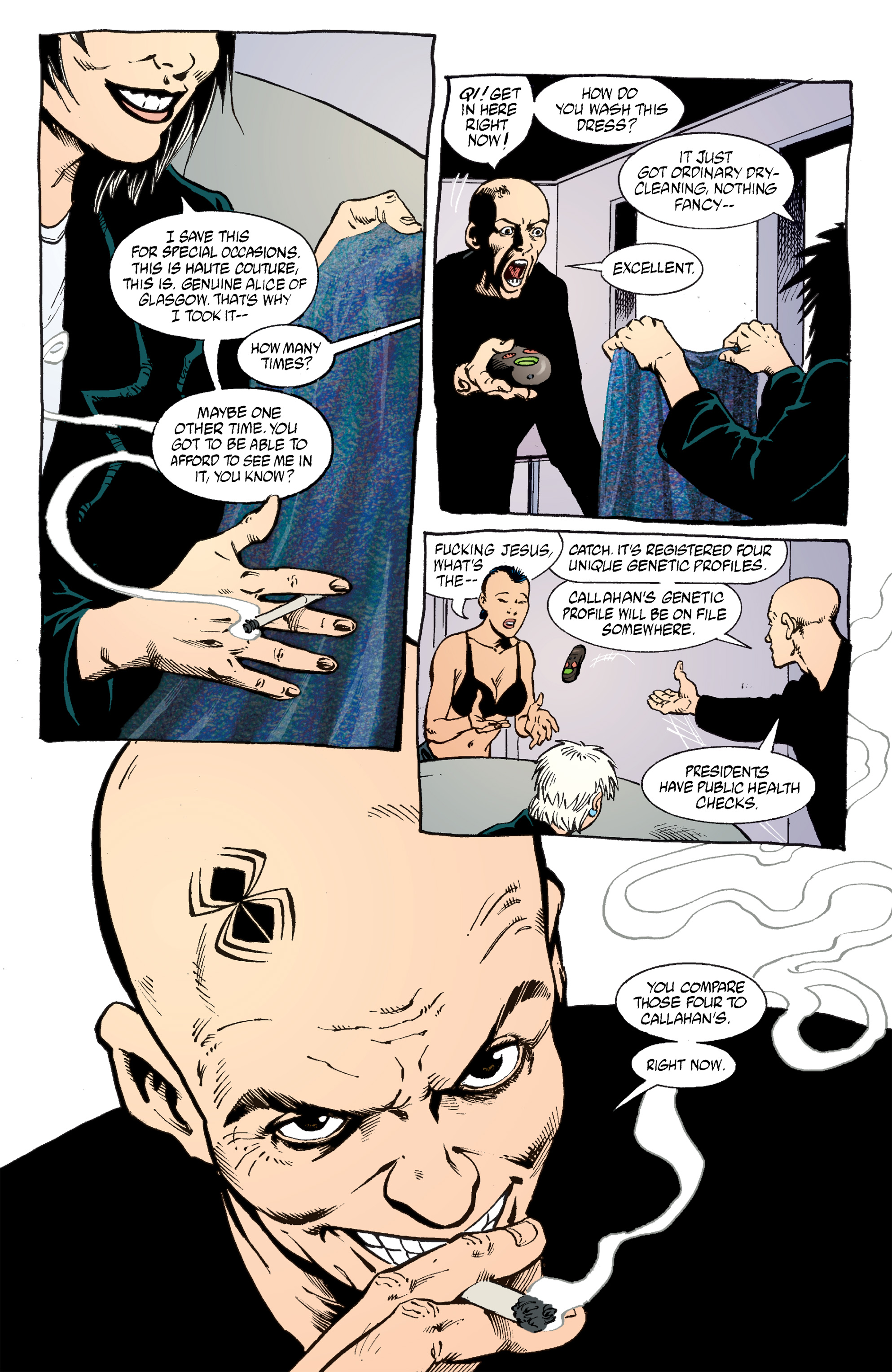 Read online Transmetropolitan comic -  Issue #53 - 18