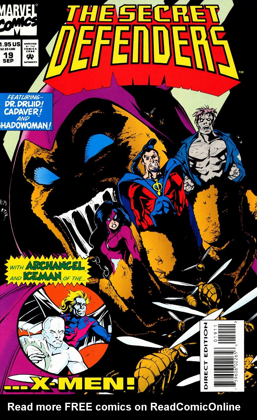 Read online Secret Defenders comic -  Issue #19 - 1