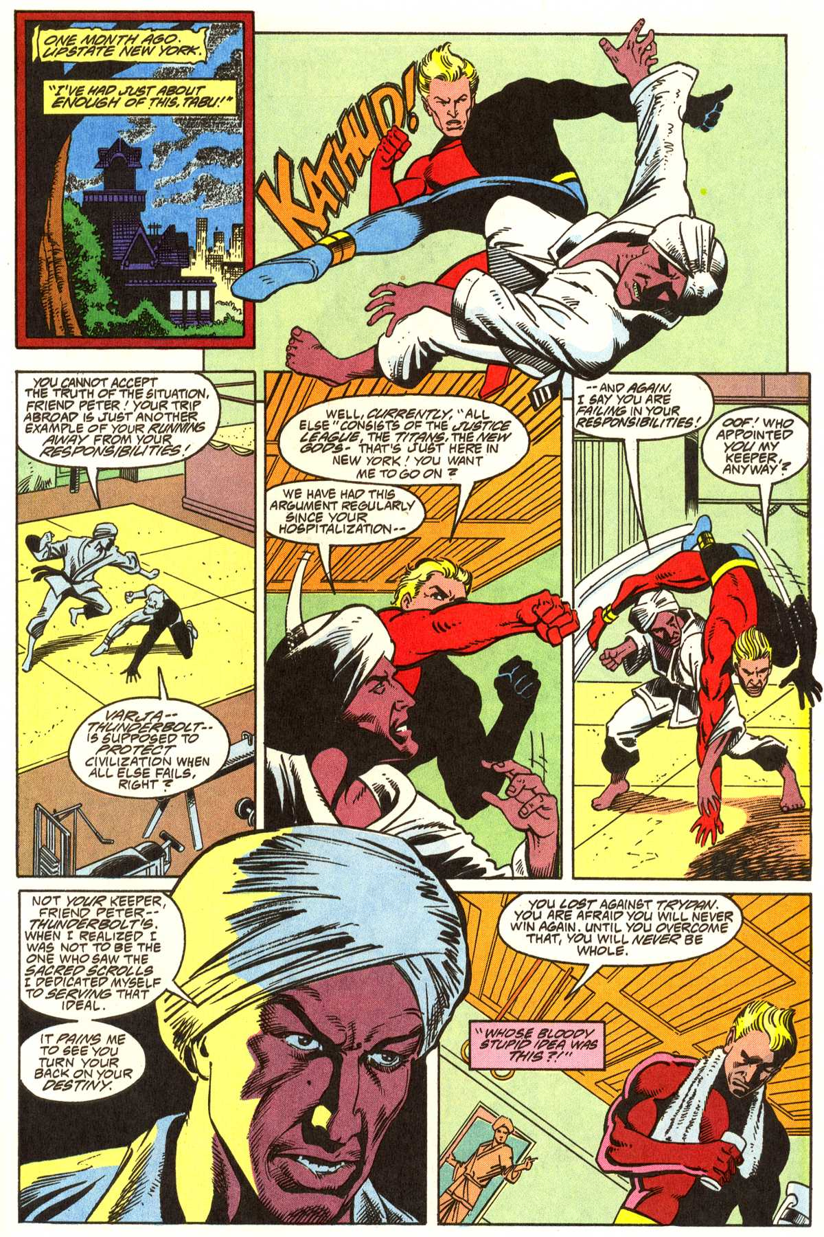 Read online Peter Cannon--Thunderbolt (1992) comic -  Issue #1 - 16