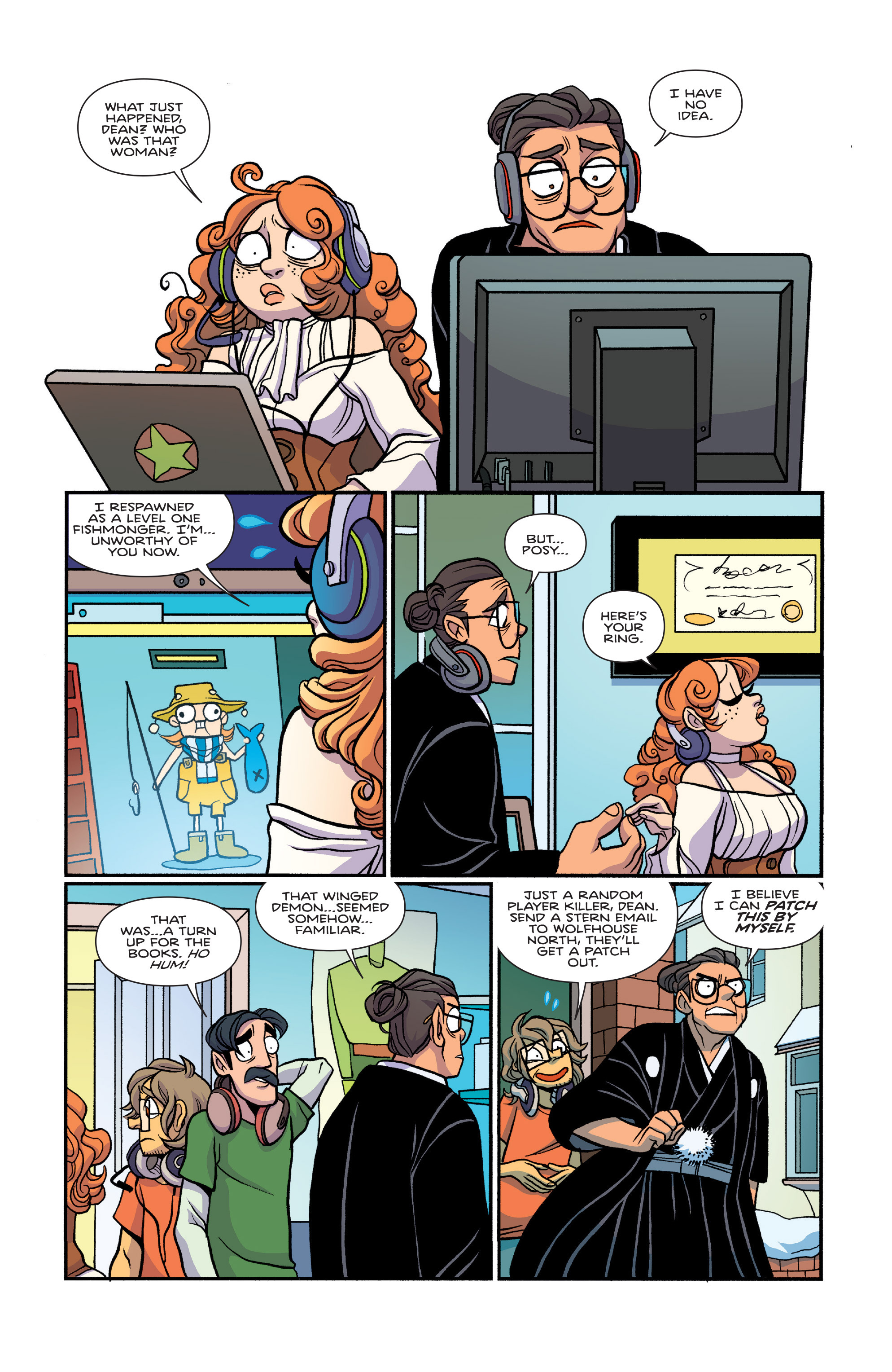 Read online Giant Days (2015) comic -  Issue #26 - 23
