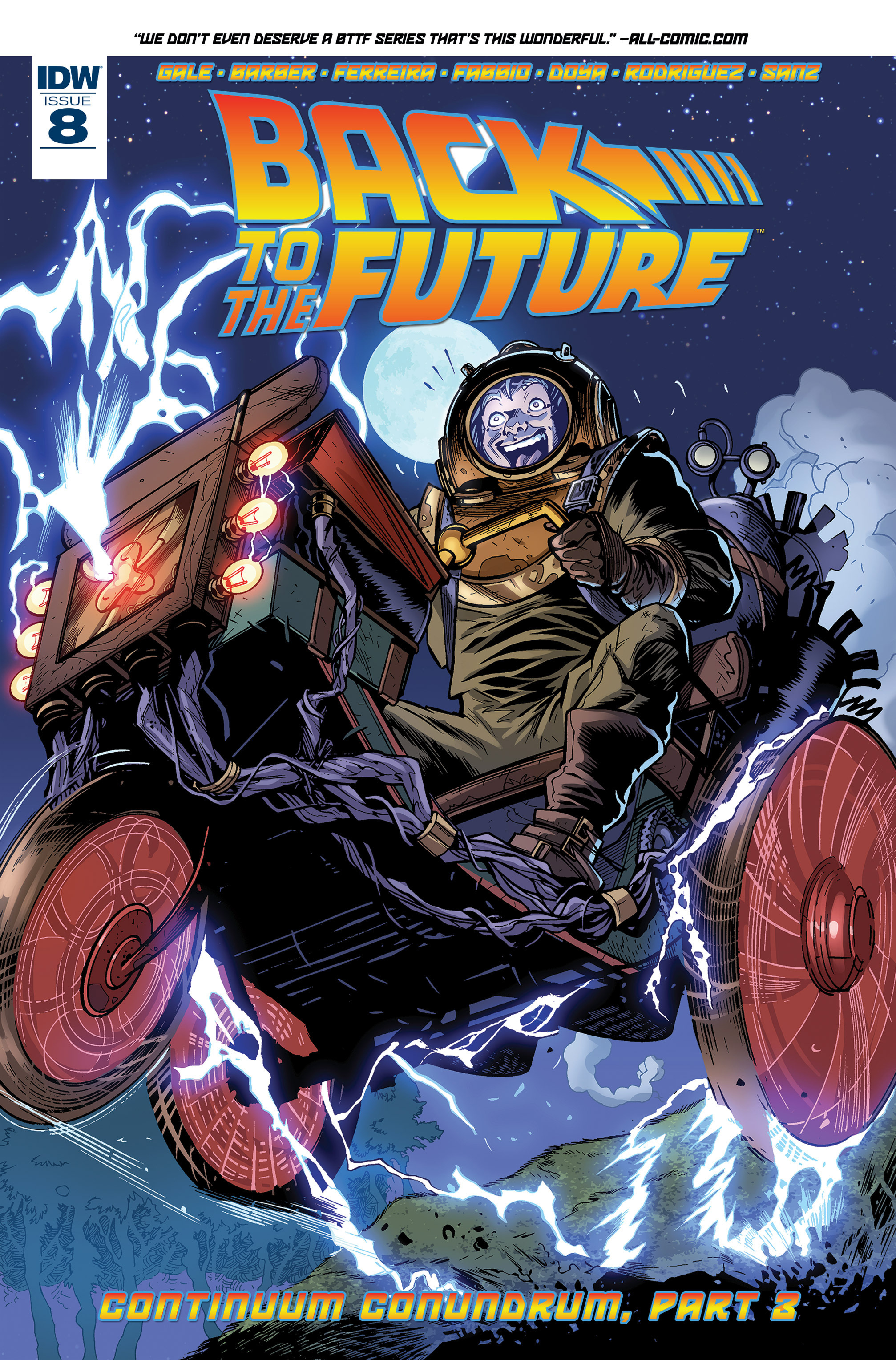 Back to the Future (2015) 8 Page 1