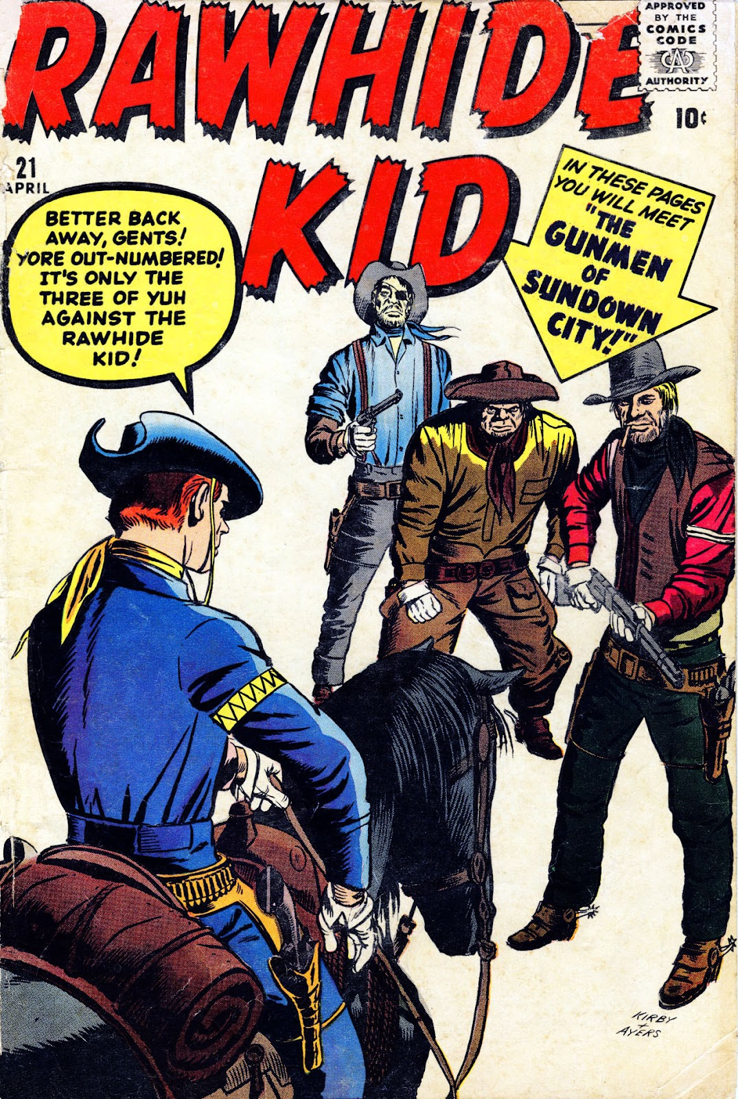The Rawhide Kid (1955) issue 21 - Page 1