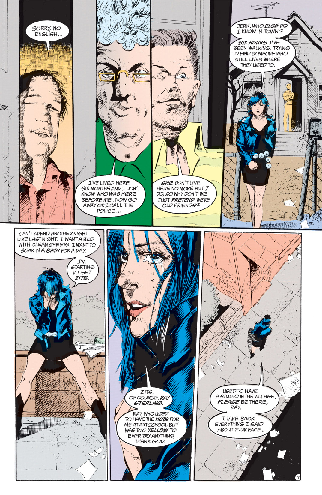 Read online Shade, the Changing Man comic -  Issue #8 - 6