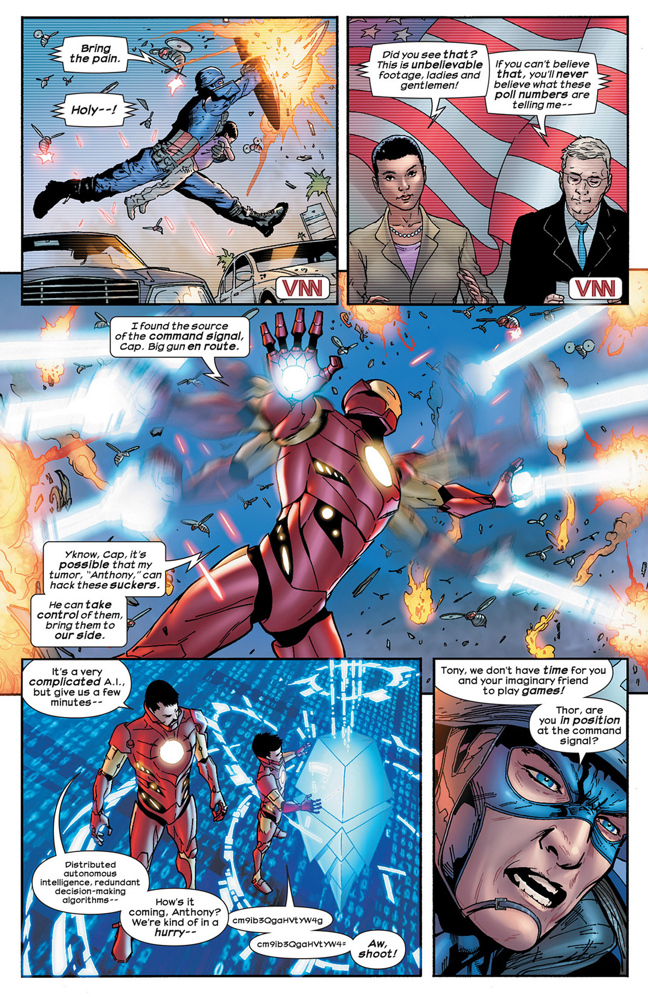 Read online Ultimate Comics Ultimates comic -  Issue #15 - 19