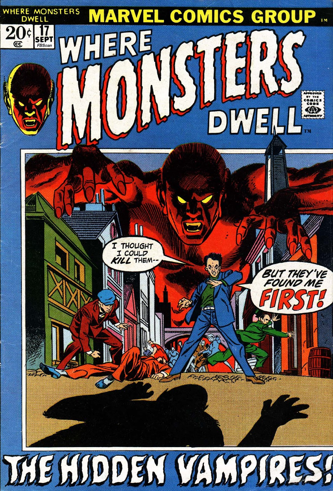 Where Monsters Dwell (1970) issue 17 - Page 1