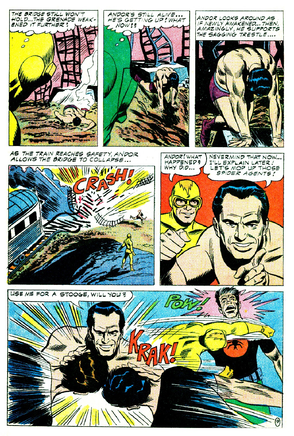 T.H.U.N.D.E.R. Agents (1965) issue 9 - Page 24