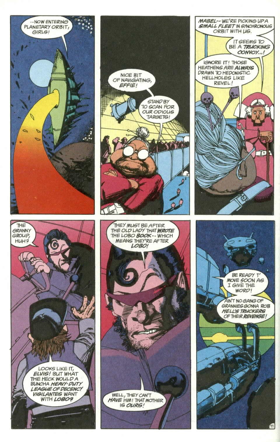 Read online Lobo (1990) comic -  Issue #4 - 12