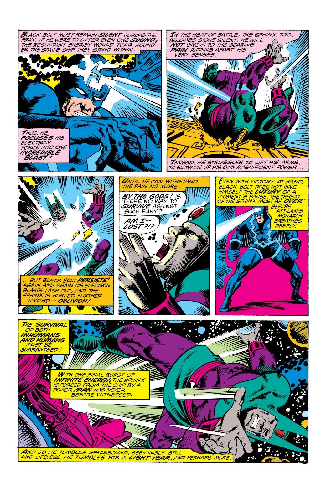Read online Marvel Masterworks: The Inhumans comic -  Issue # TPB 2 (Part 3) - 78