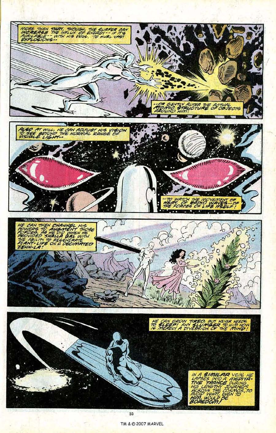 Read online Silver Surfer (1987) comic -  Issue # _Annual 2 - 35