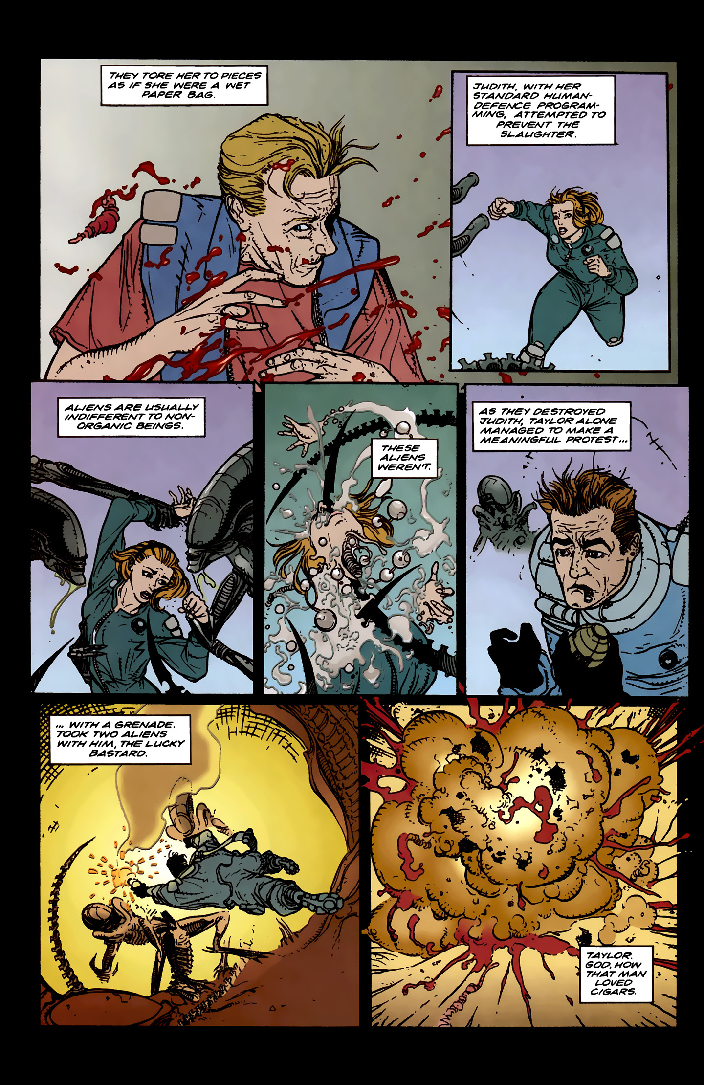 Read online Aliens: Labyrinth comic -  Issue #3 - 11