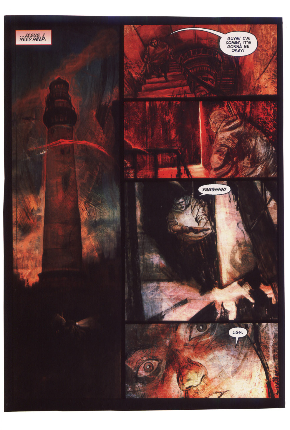 Read online Silent Hill: Dying Inside comic -  Issue #5 - 9