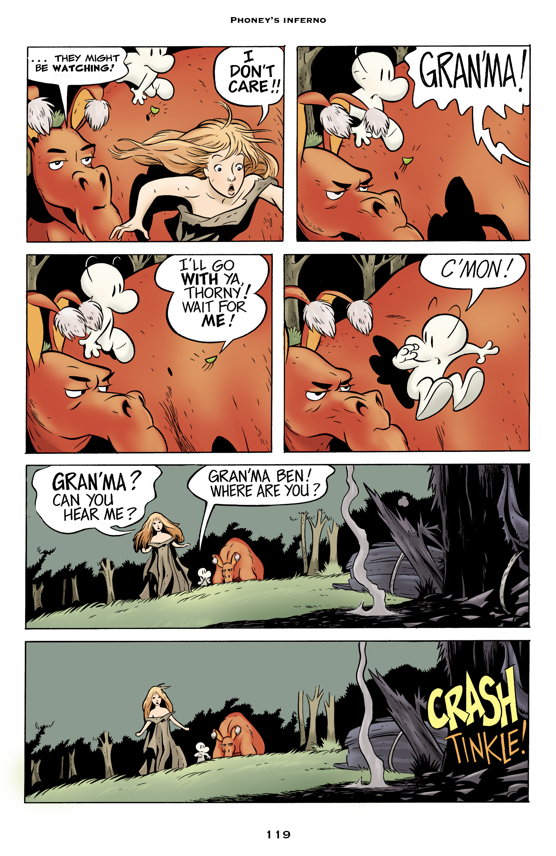 Read online Bone: Out From Boneville comic -  Issue # TPB - 119