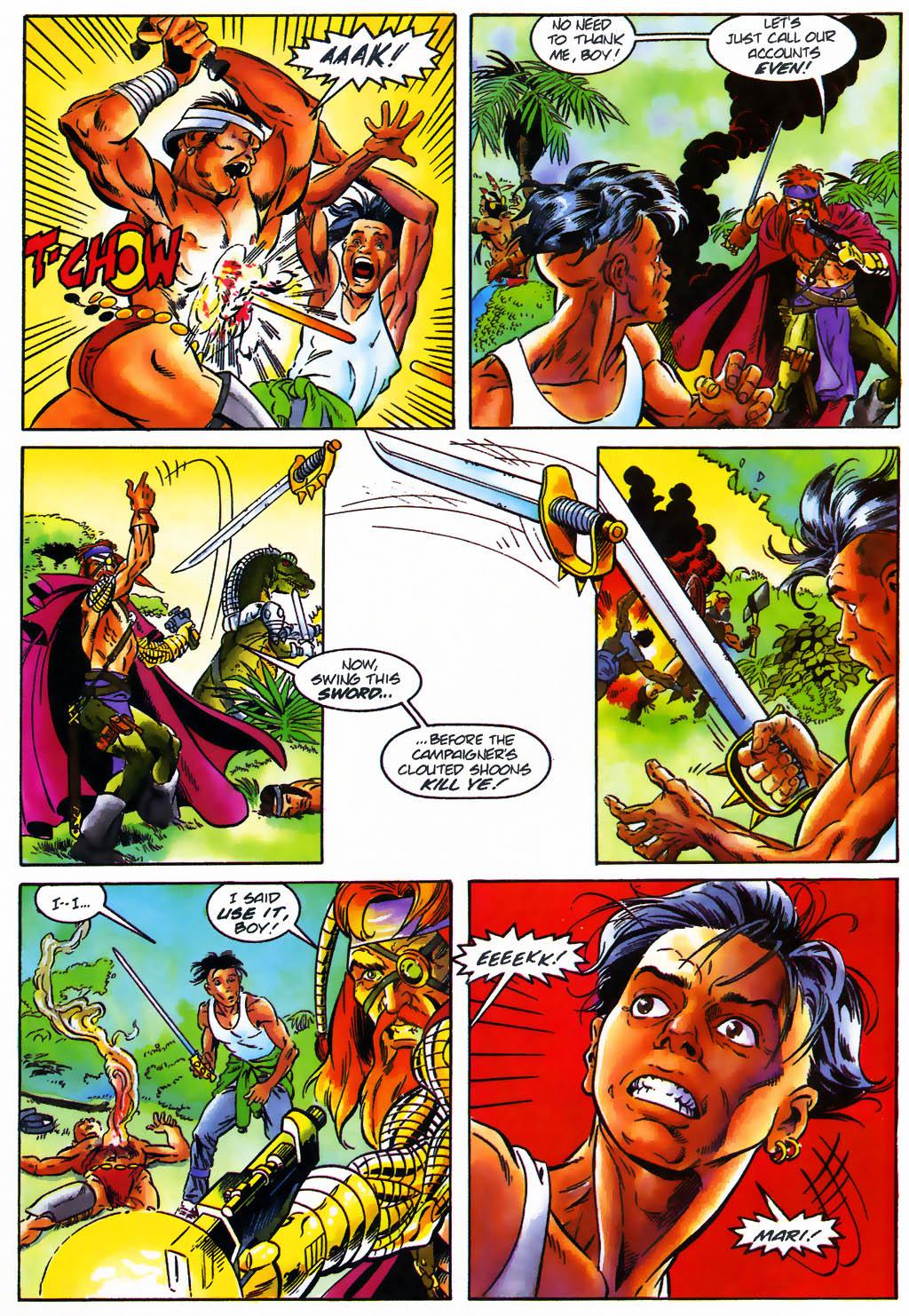 Read online Turok, Dinosaur Hunter (1993) comic -  Issue #26 - 9