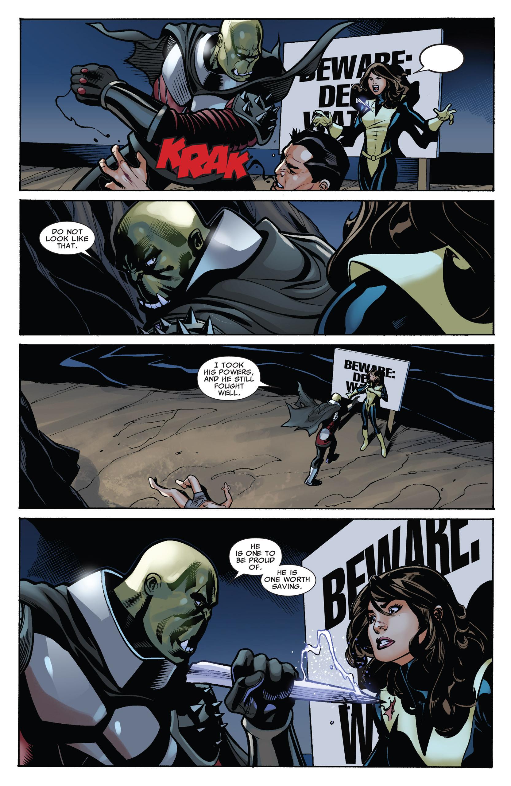 Read online Uncanny X-Men (1963) comic -  Issue #537 - 13