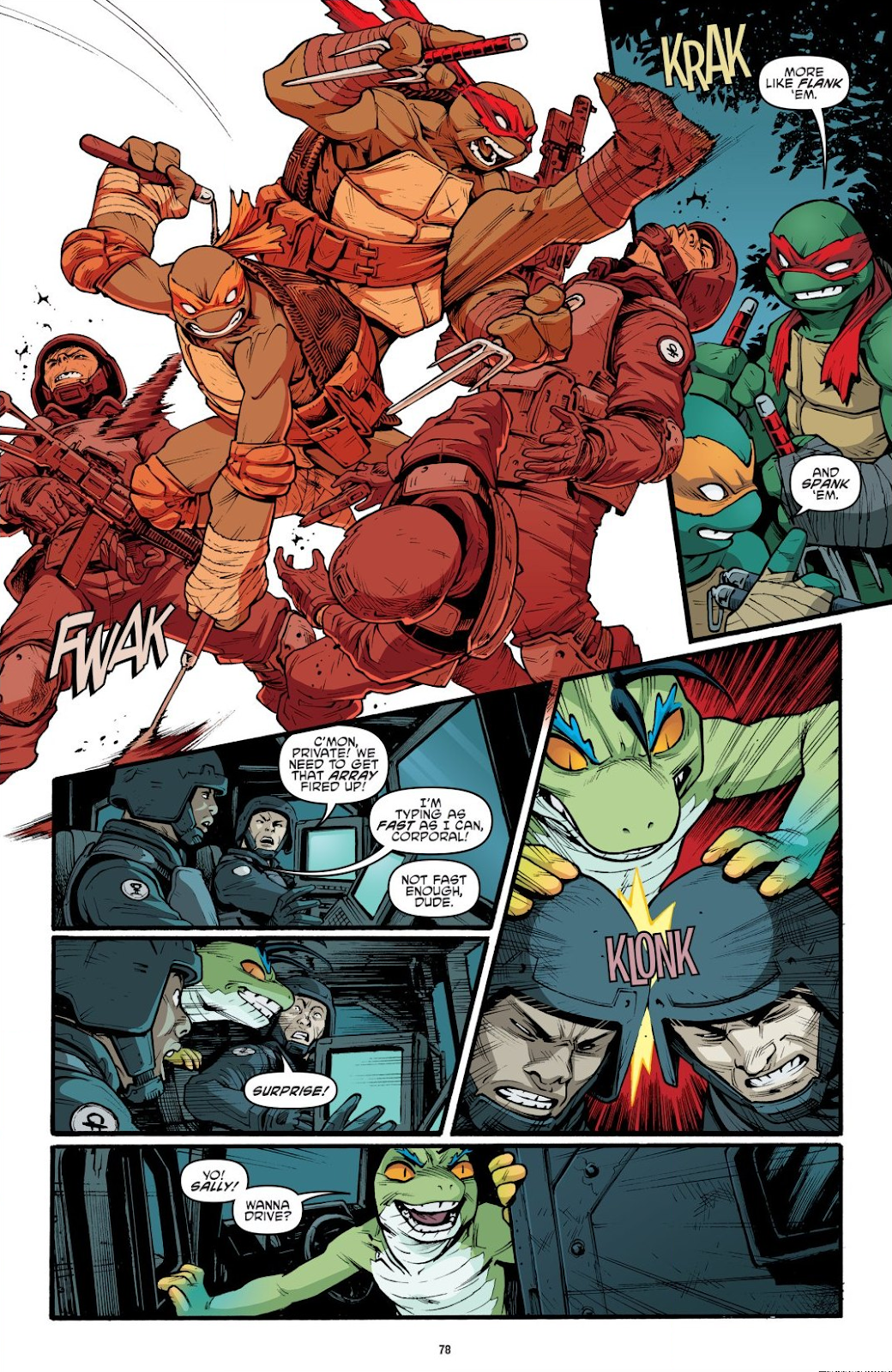 Read online Teenage Mutant Ninja Turtles: The IDW Collection comic -  Issue # TPB 9 (Part 1) - 79
