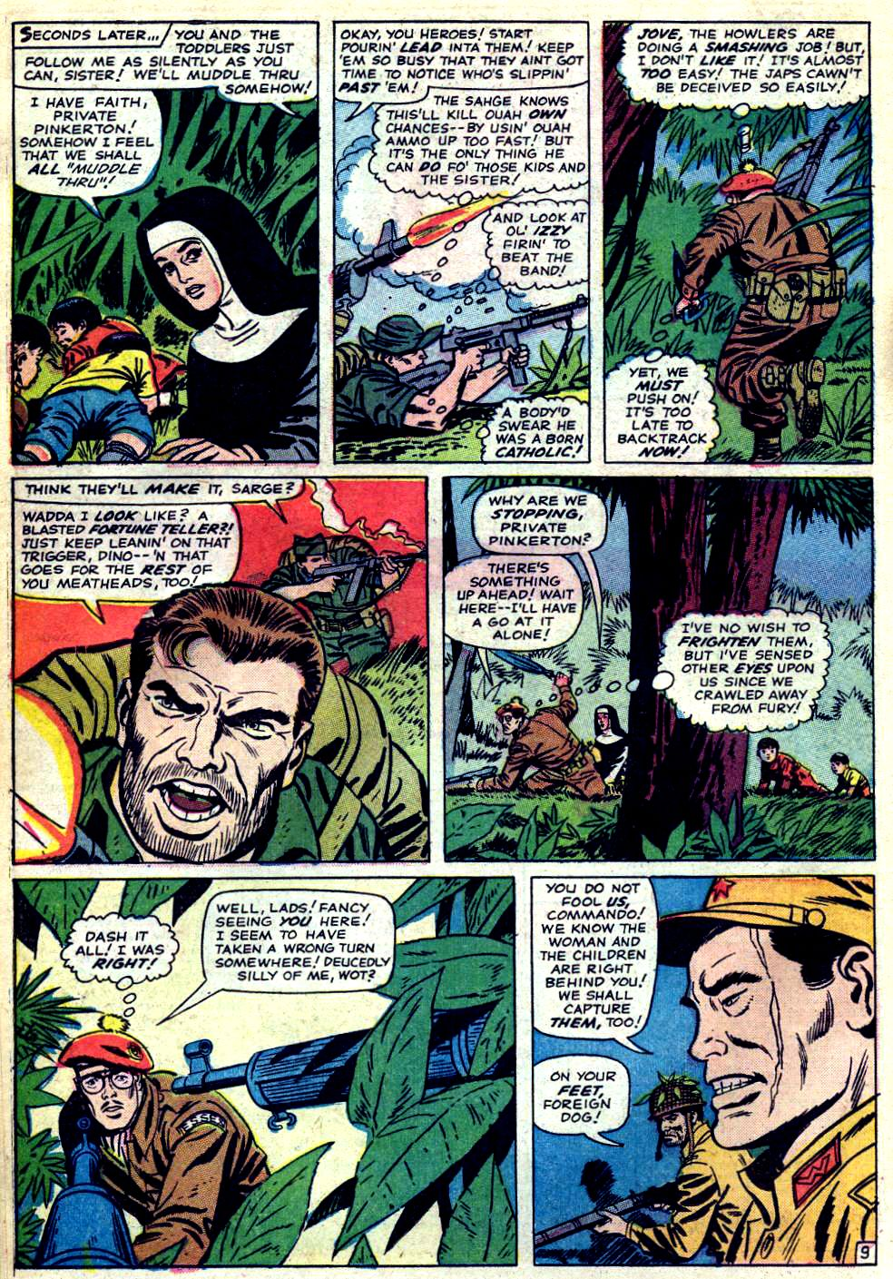 Read online Sgt. Fury comic -  Issue #23 - 14