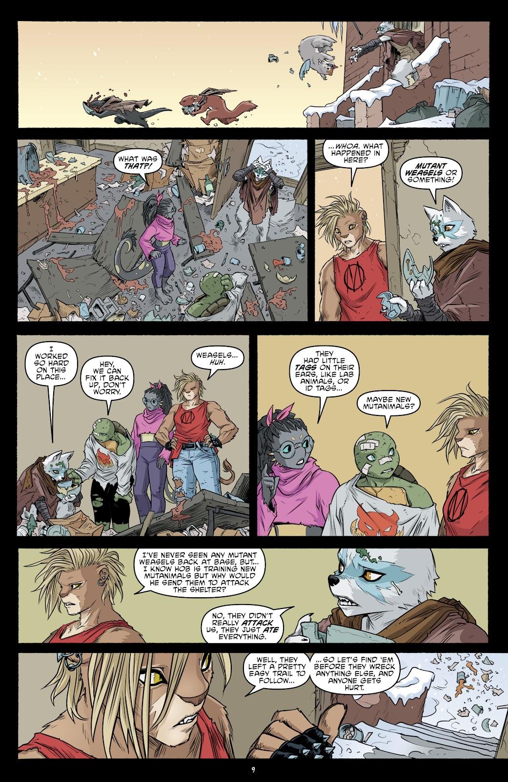 Read online Teenage Mutant Ninja Turtles (2011) comic -  Issue #103 - 11