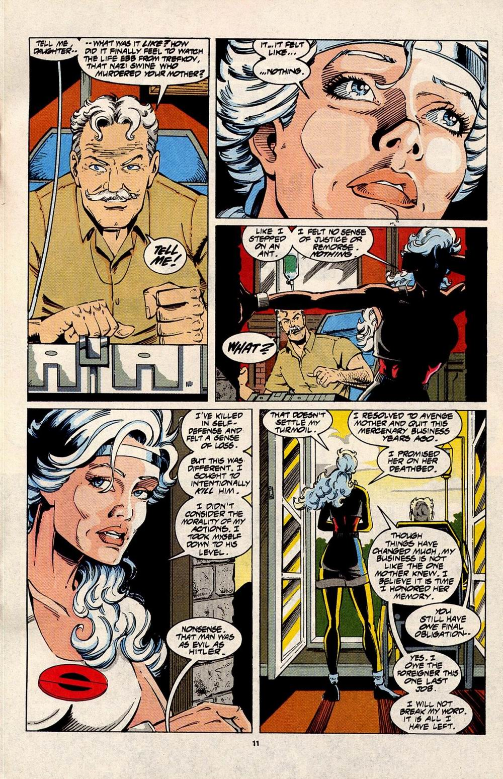 Read online Silver Sable and the Wild Pack comic -  Issue #31 - 9