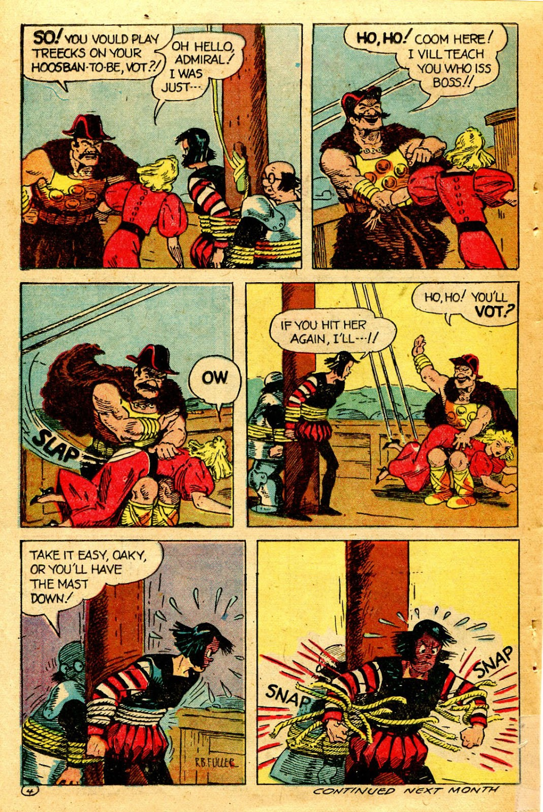 Read online Famous Funnies comic -  Issue #126 - 38