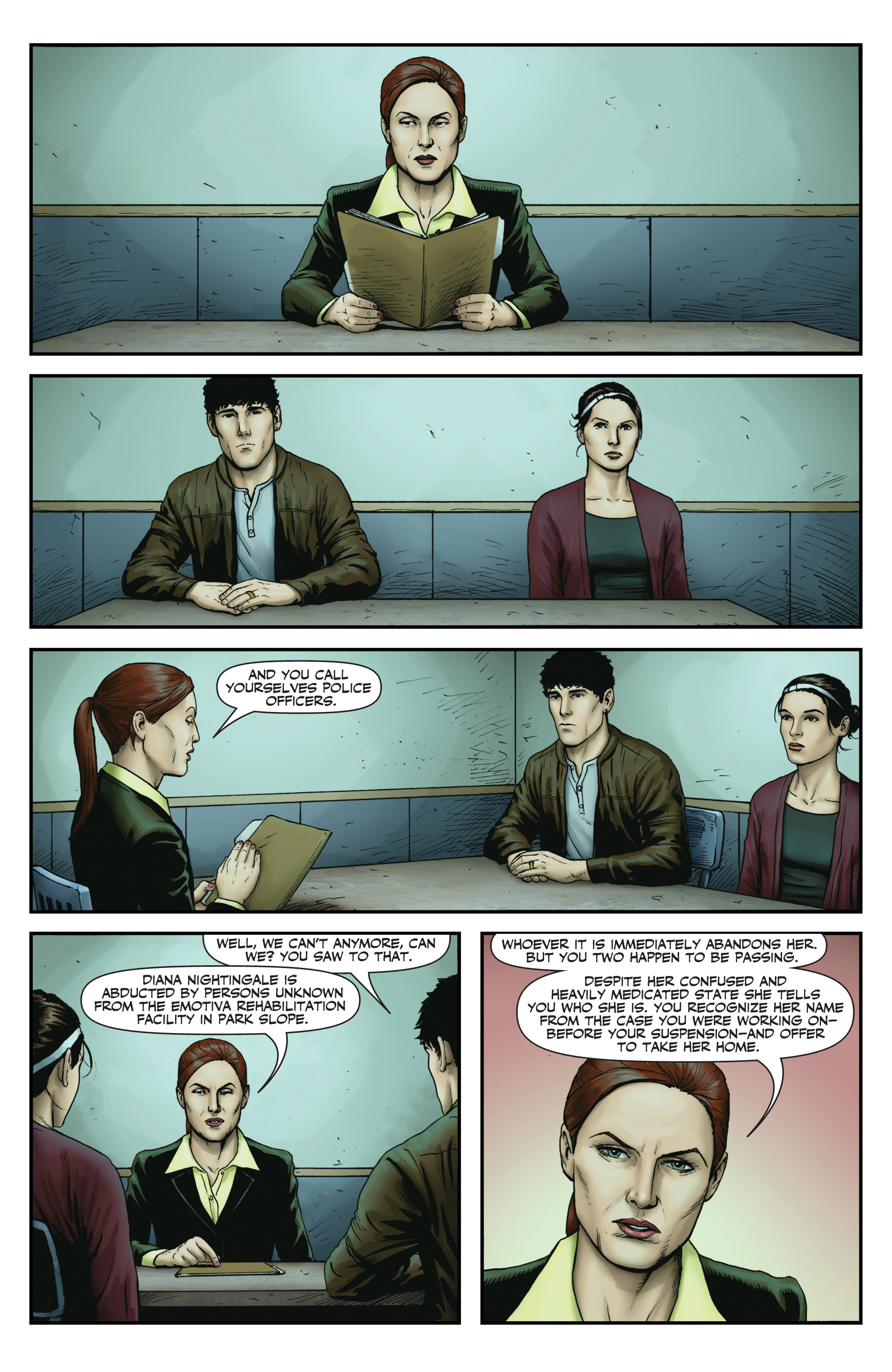 Read online Red Team: Double Tap, Center Mass comic -  Issue #9 - 17
