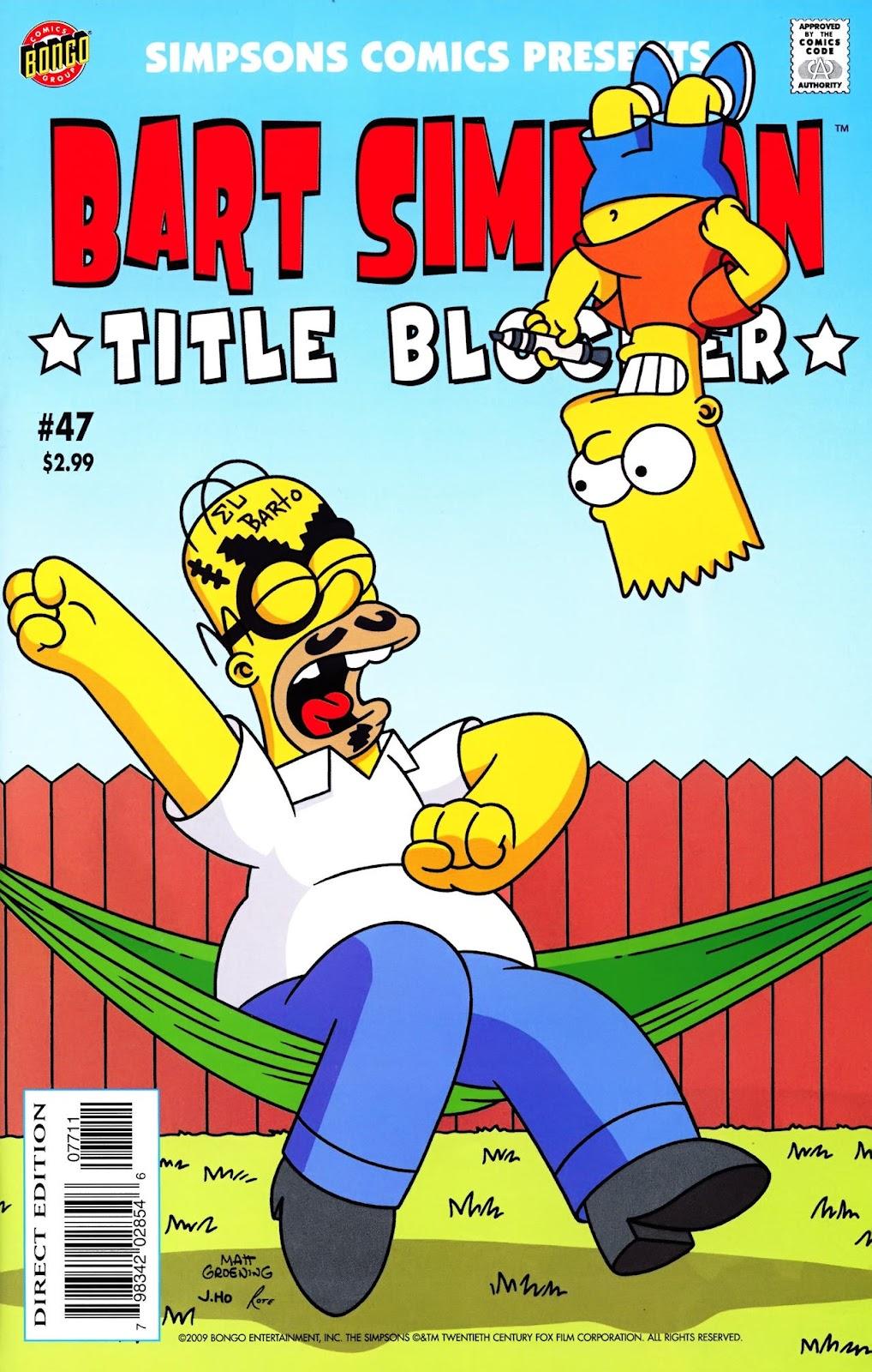 Simpsons Comics Presents Bart Simpson 47 Page 1