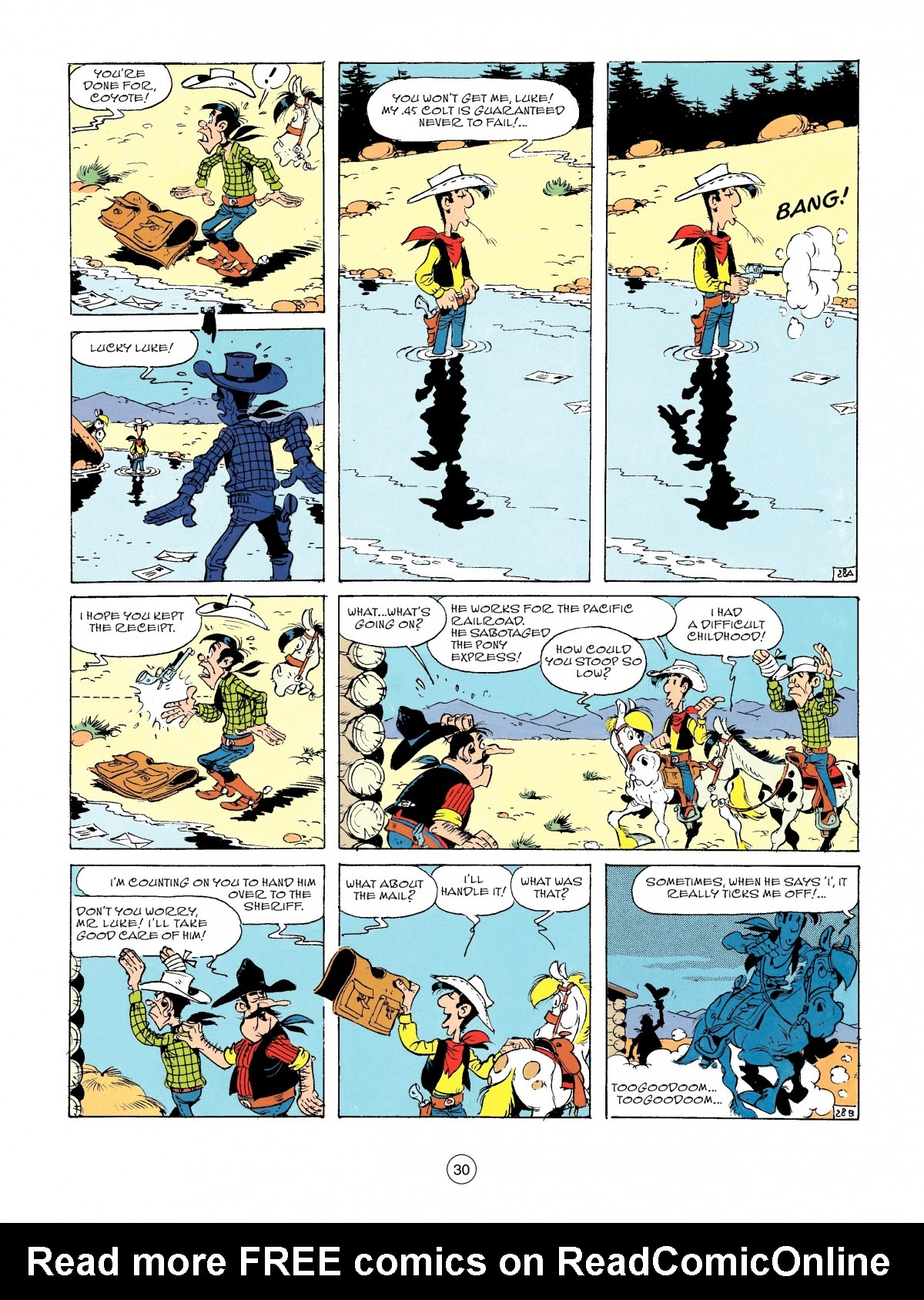 Read online A Lucky Luke Adventure comic -  Issue #46 - 30