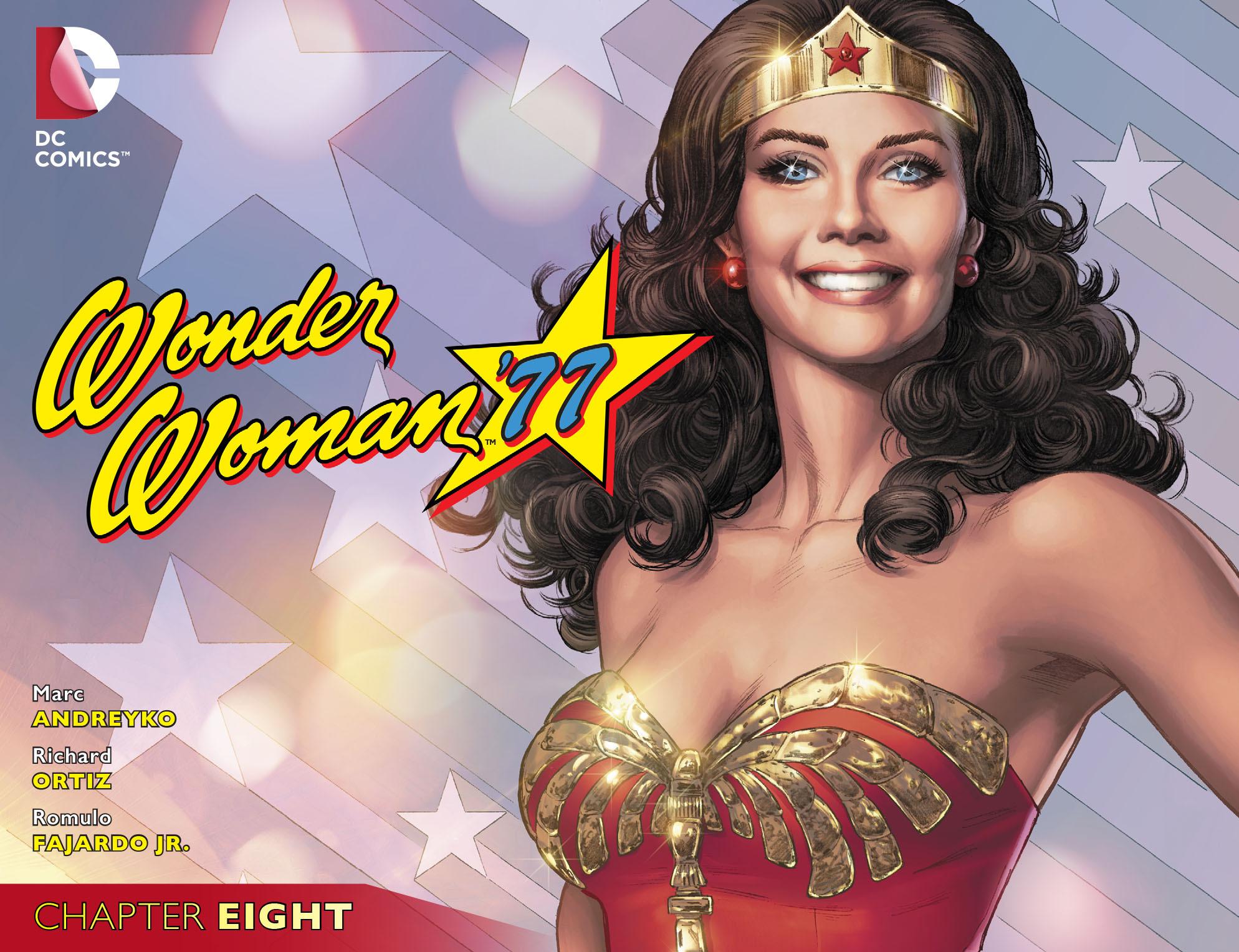 Read online Wonder Woman '77 [I] comic -  Issue #8 - 1