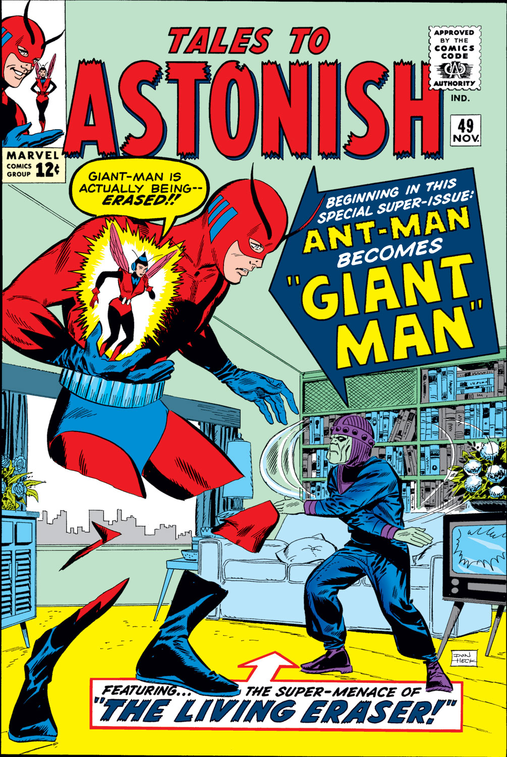 Tales to Astonish (1959) issue 49 - Page 1
