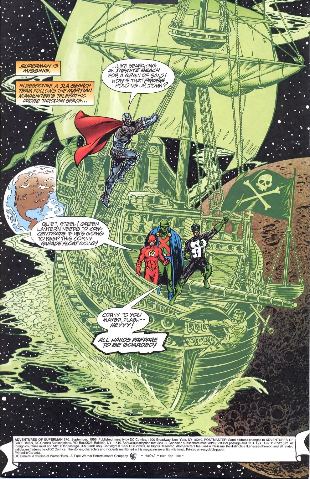 Read online Adventures of Superman (1987) comic -  Issue #570 - 2