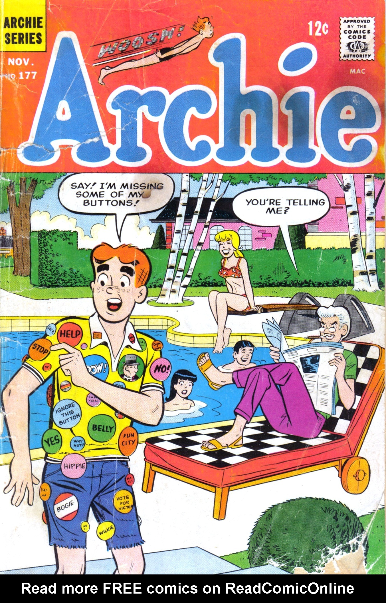 Read online Archie (1960) comic -  Issue #177 - 1