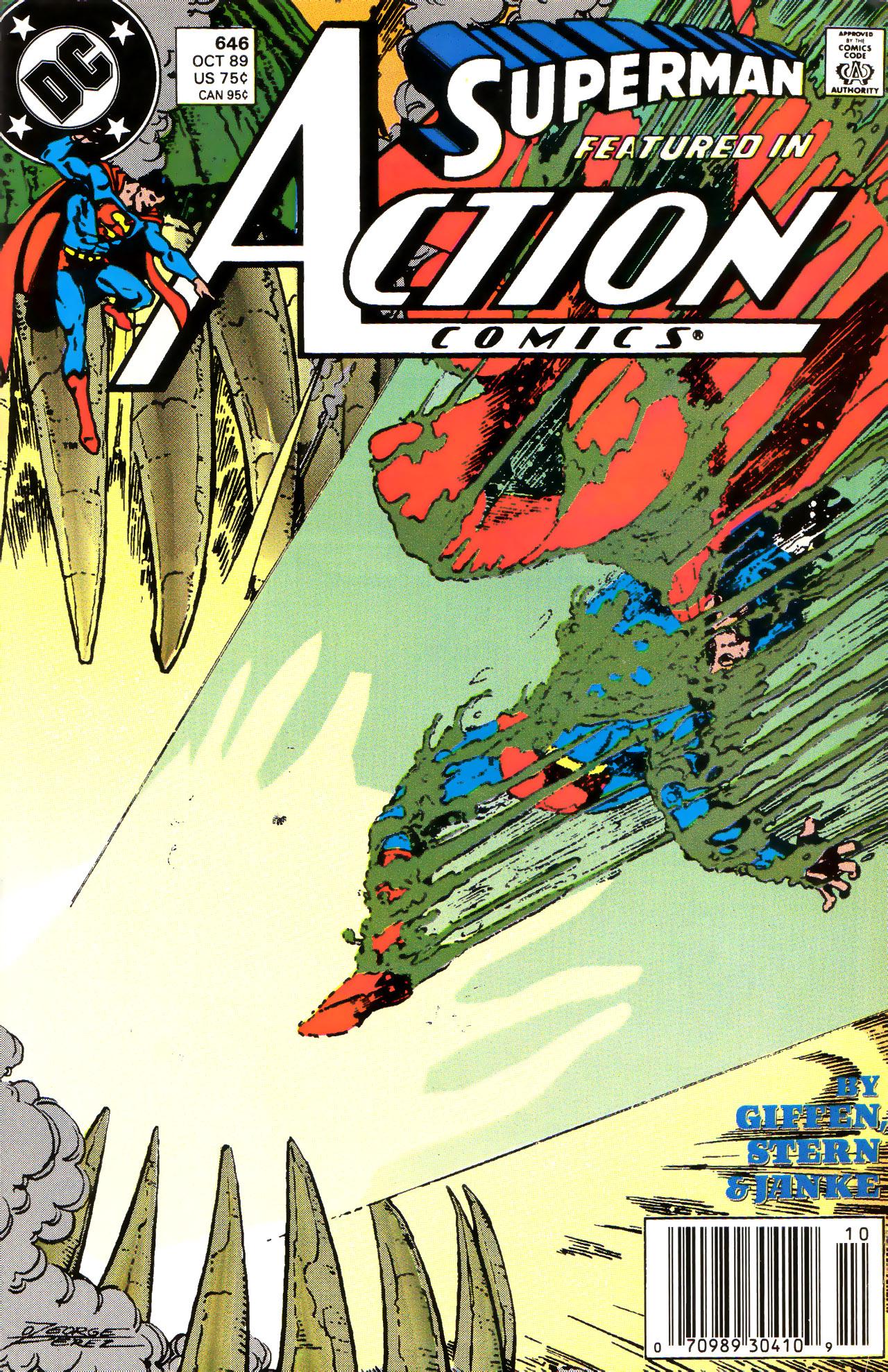 Action Comics (1938) 646 Page 1