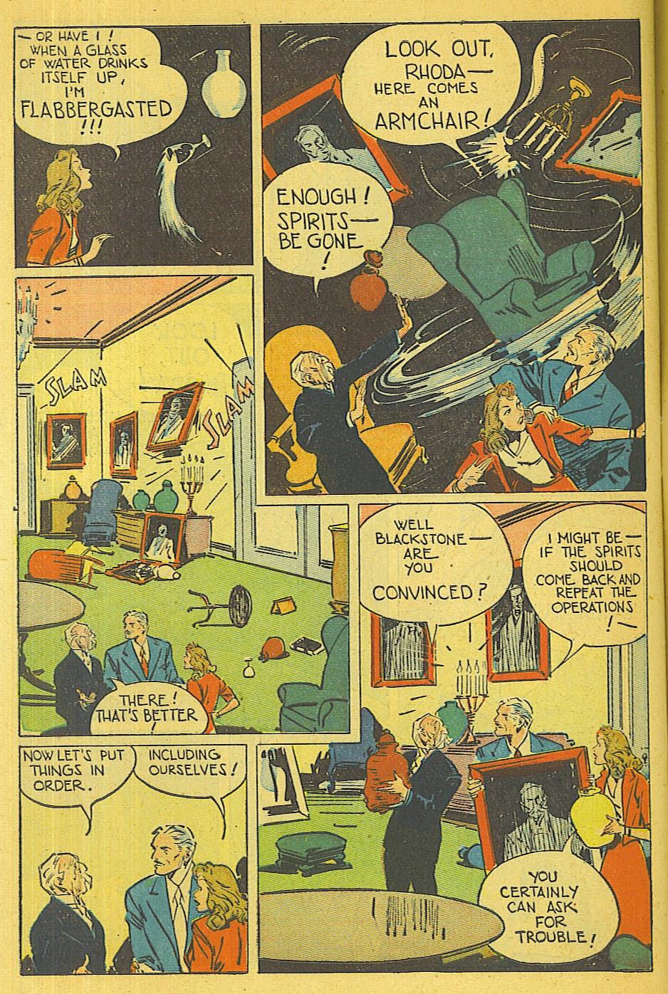 Read online Super-Magician Comics comic -  Issue #39 - 45