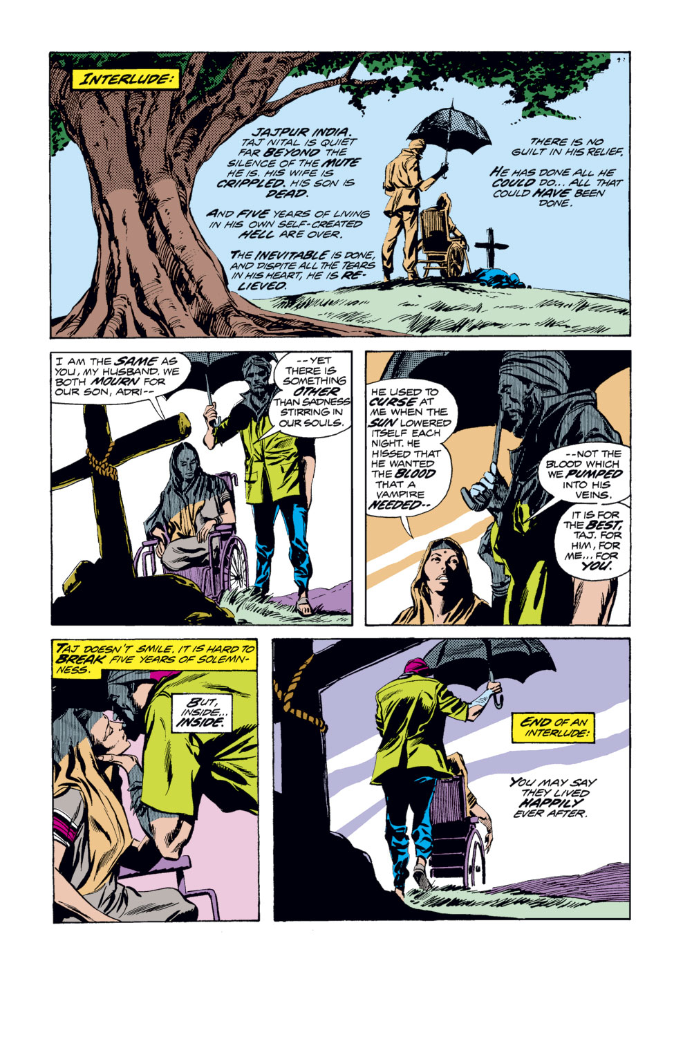 Tomb of Dracula (1972) issue 33 - Page 12