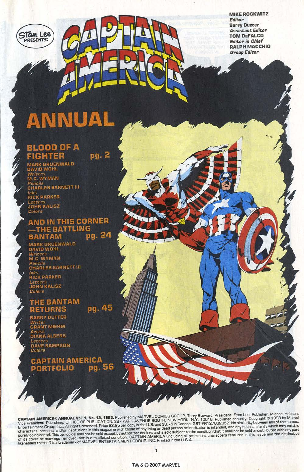 Read online Captain America (1968) comic -  Issue # _Annual 12 - 3