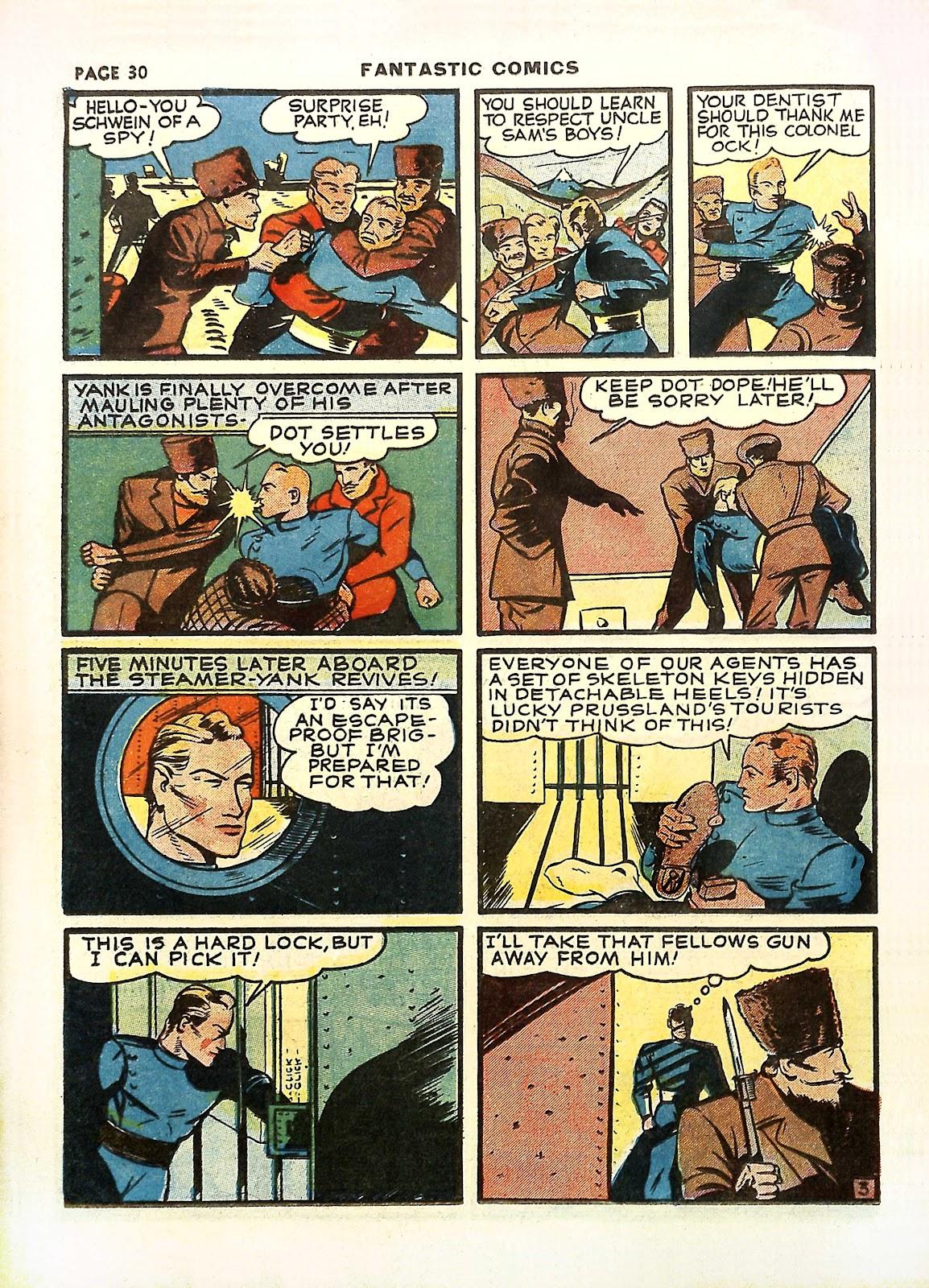 Read online Fantastic Comics comic -  Issue #11 - 33