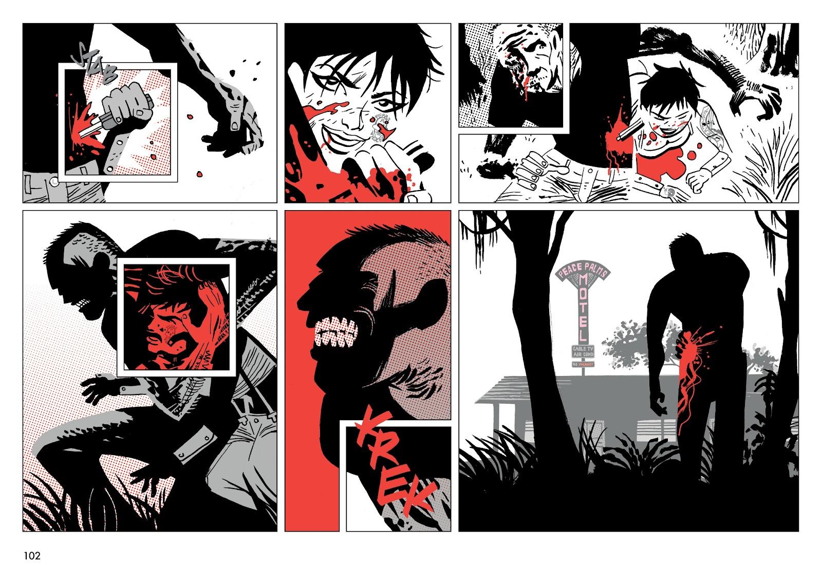 Read online Polar comic -  Issue # TPB The Kaiser Falls (Part 2) - 4