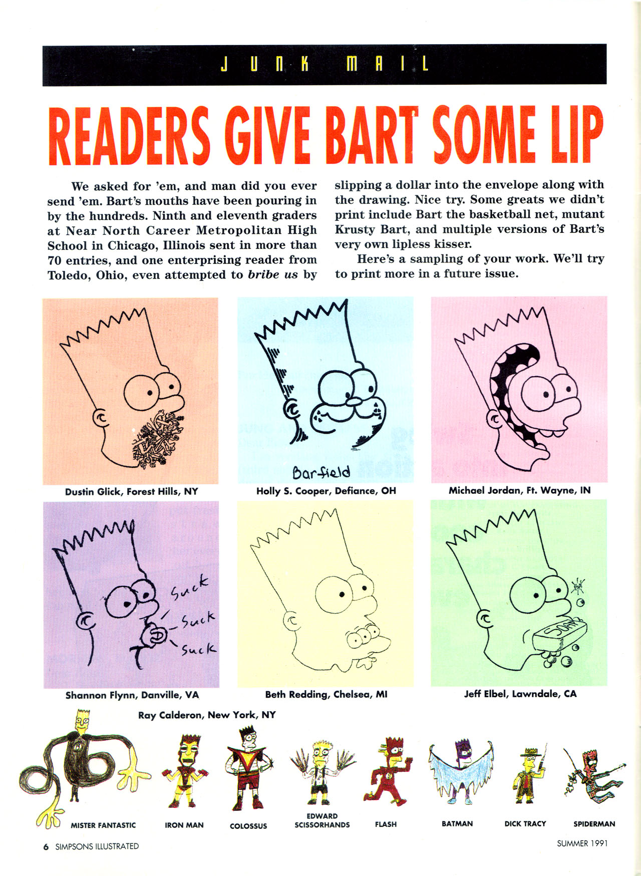 Read online Simpsons Illustrated (1991) comic -  Issue #2 - 8