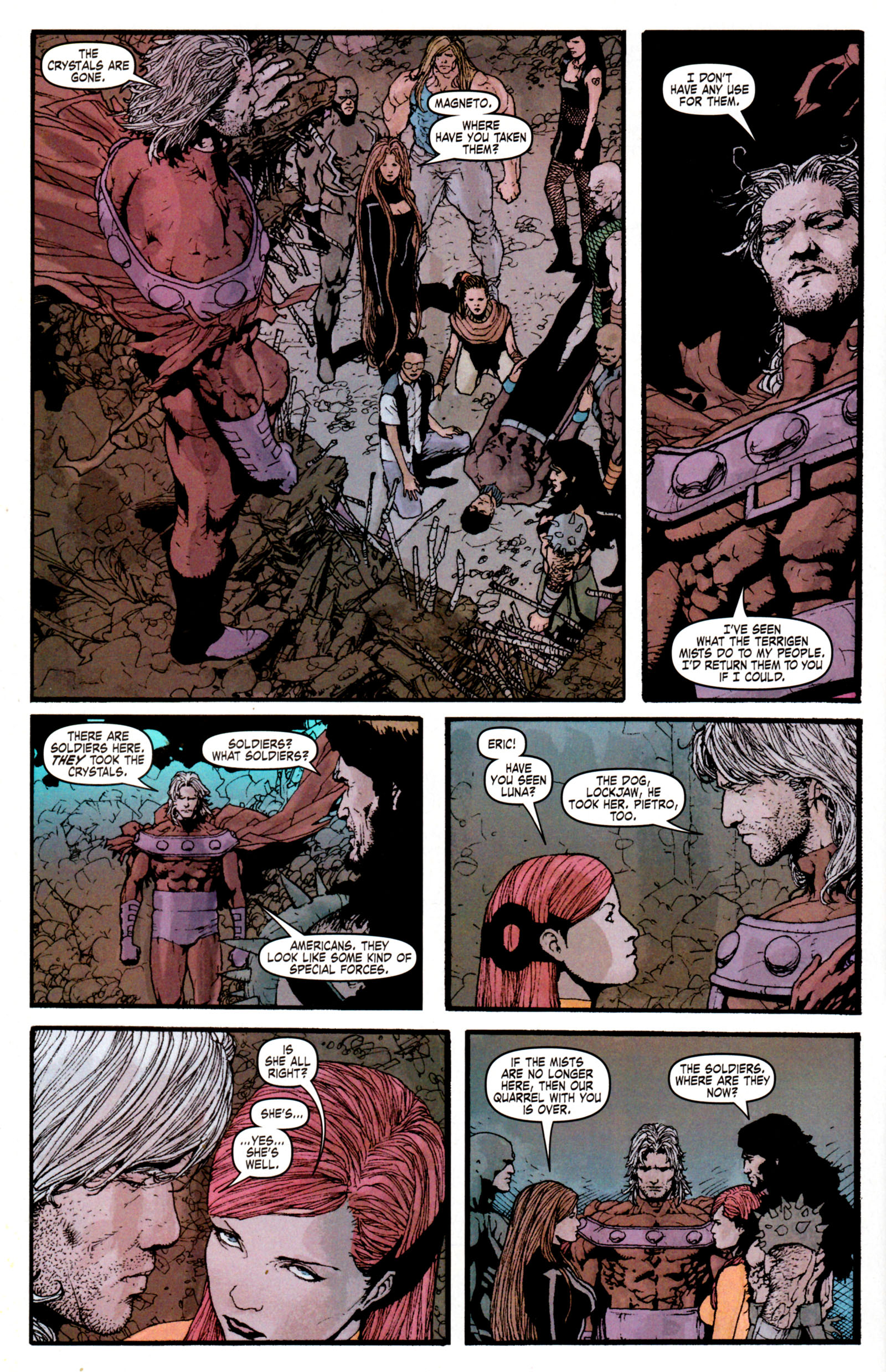 Read online Son of M comic -  Issue #6 - 12