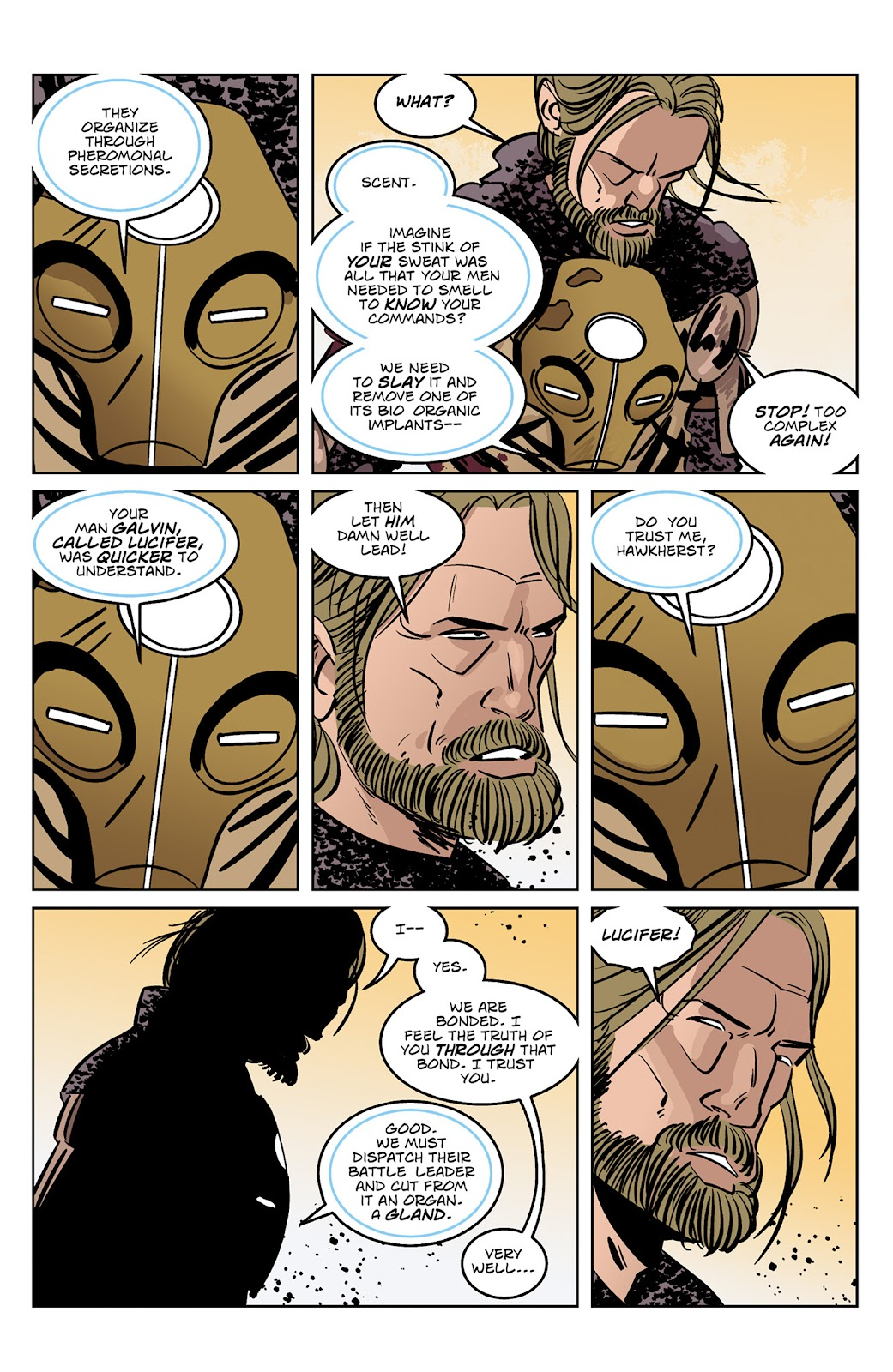 Read online Dark Ages comic -  Issue #4 - 5