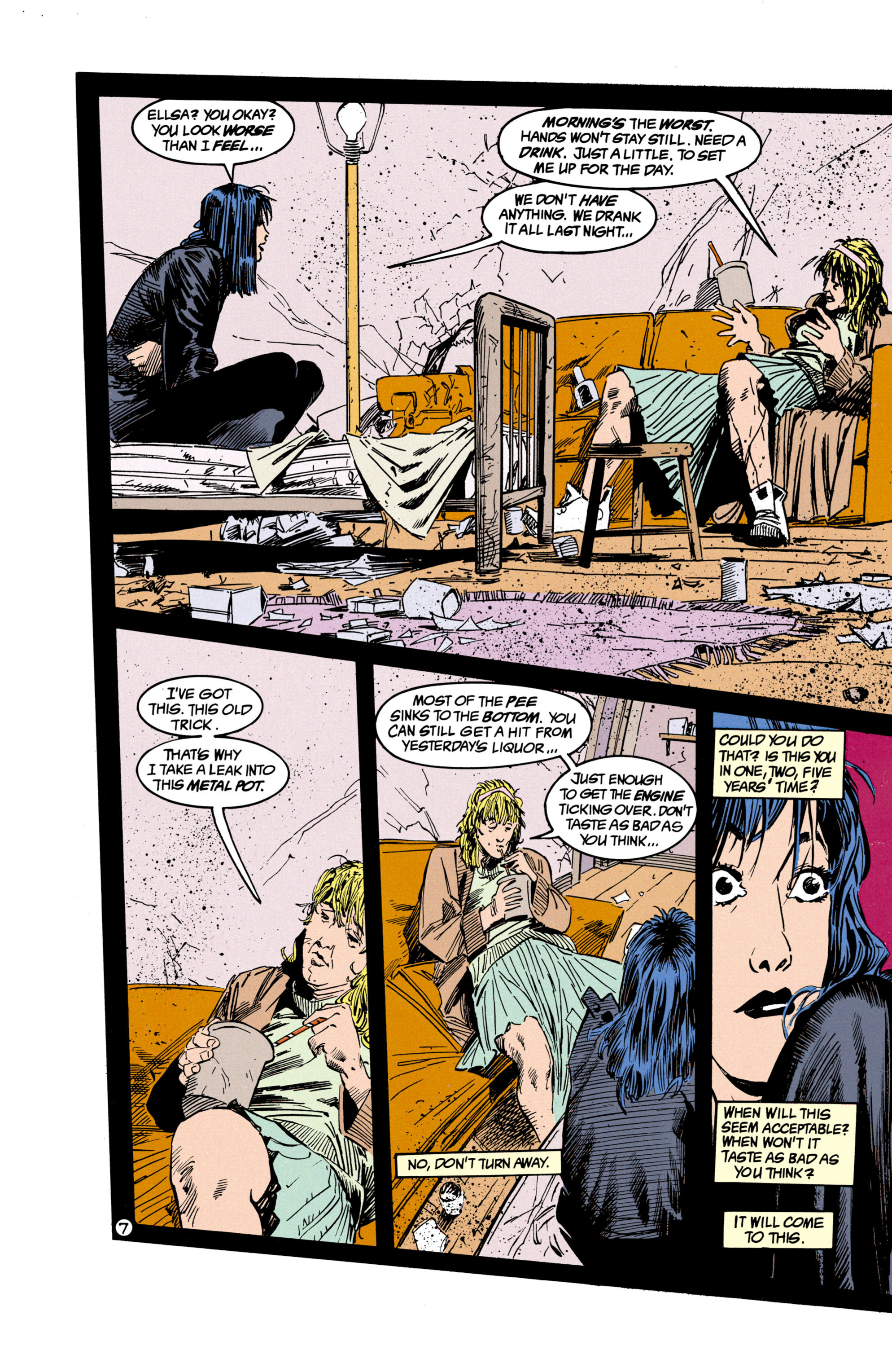 Read online Shade, the Changing Man comic -  Issue #17 - 8