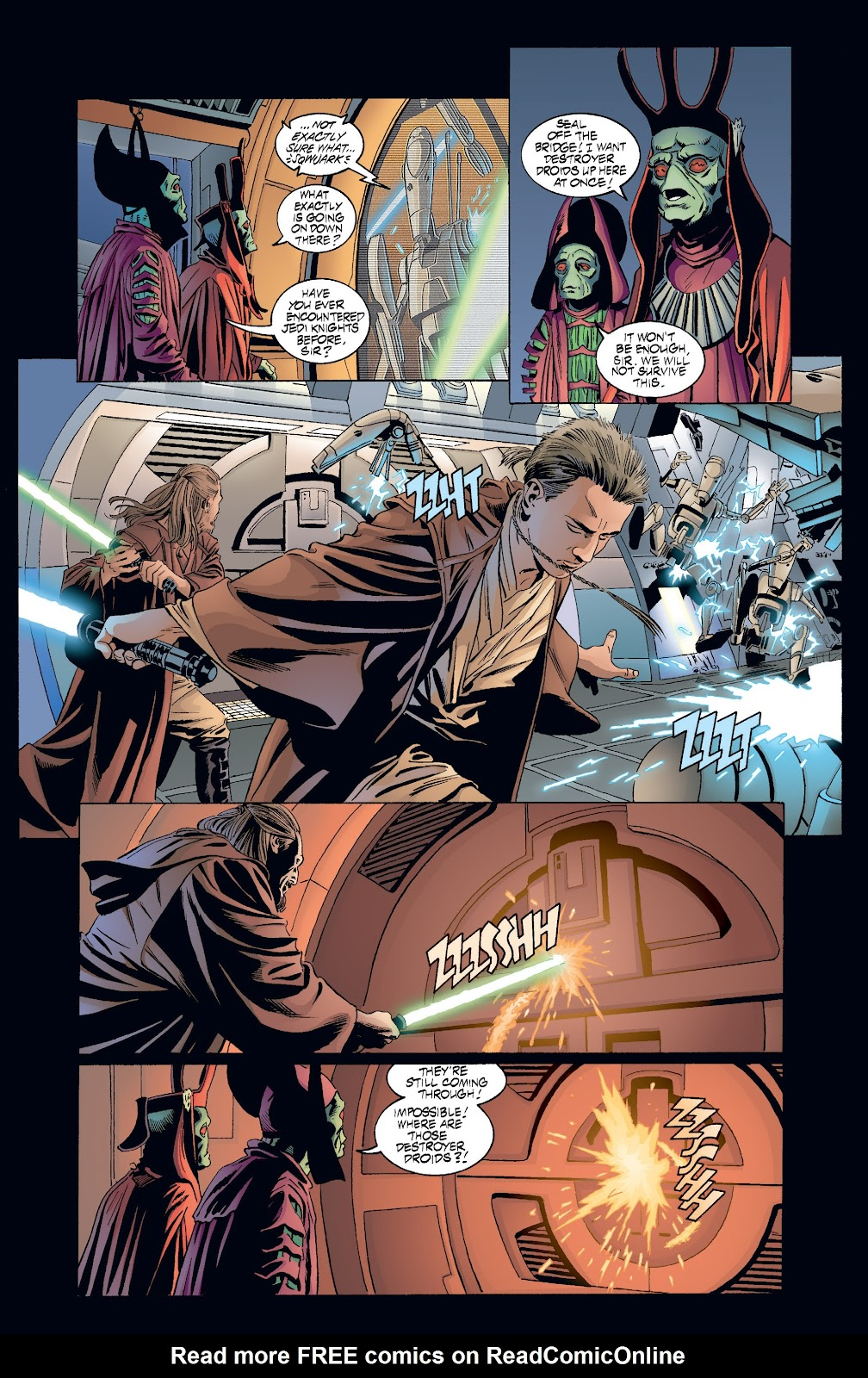 Read online Star Wars Legends: Rise of the Sith - Epic Collection comic -  Issue # TPB 2 (Part 3) - 44