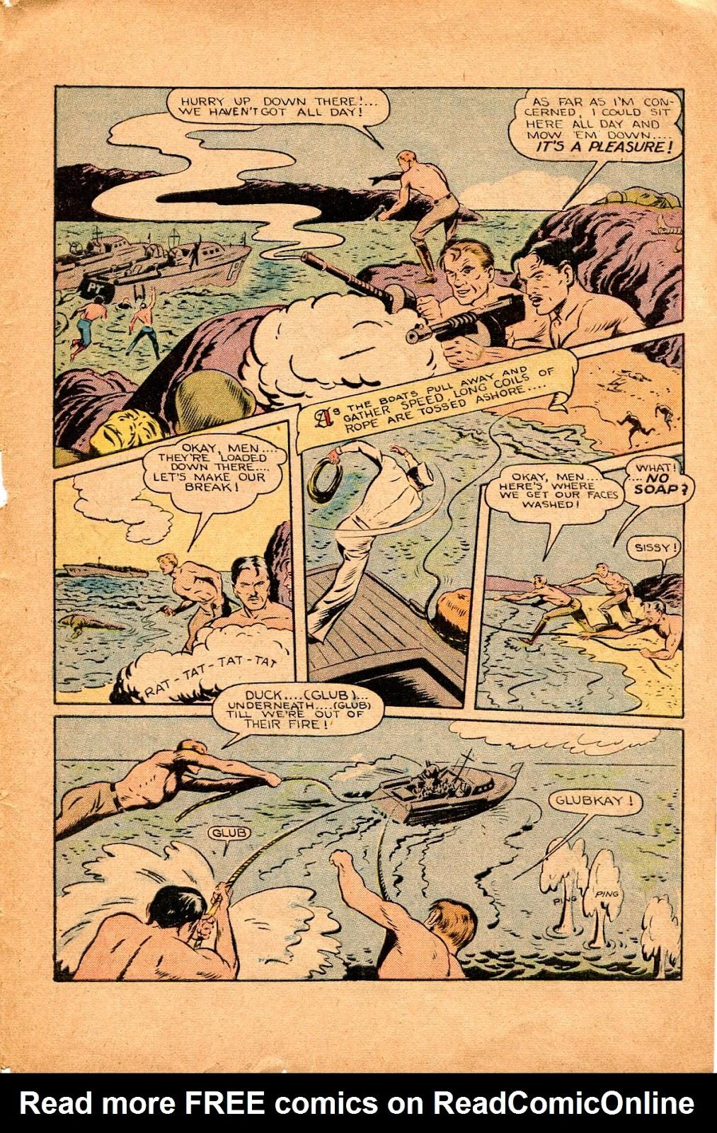 Read online Super-Magician Comics comic -  Issue #34 - 39