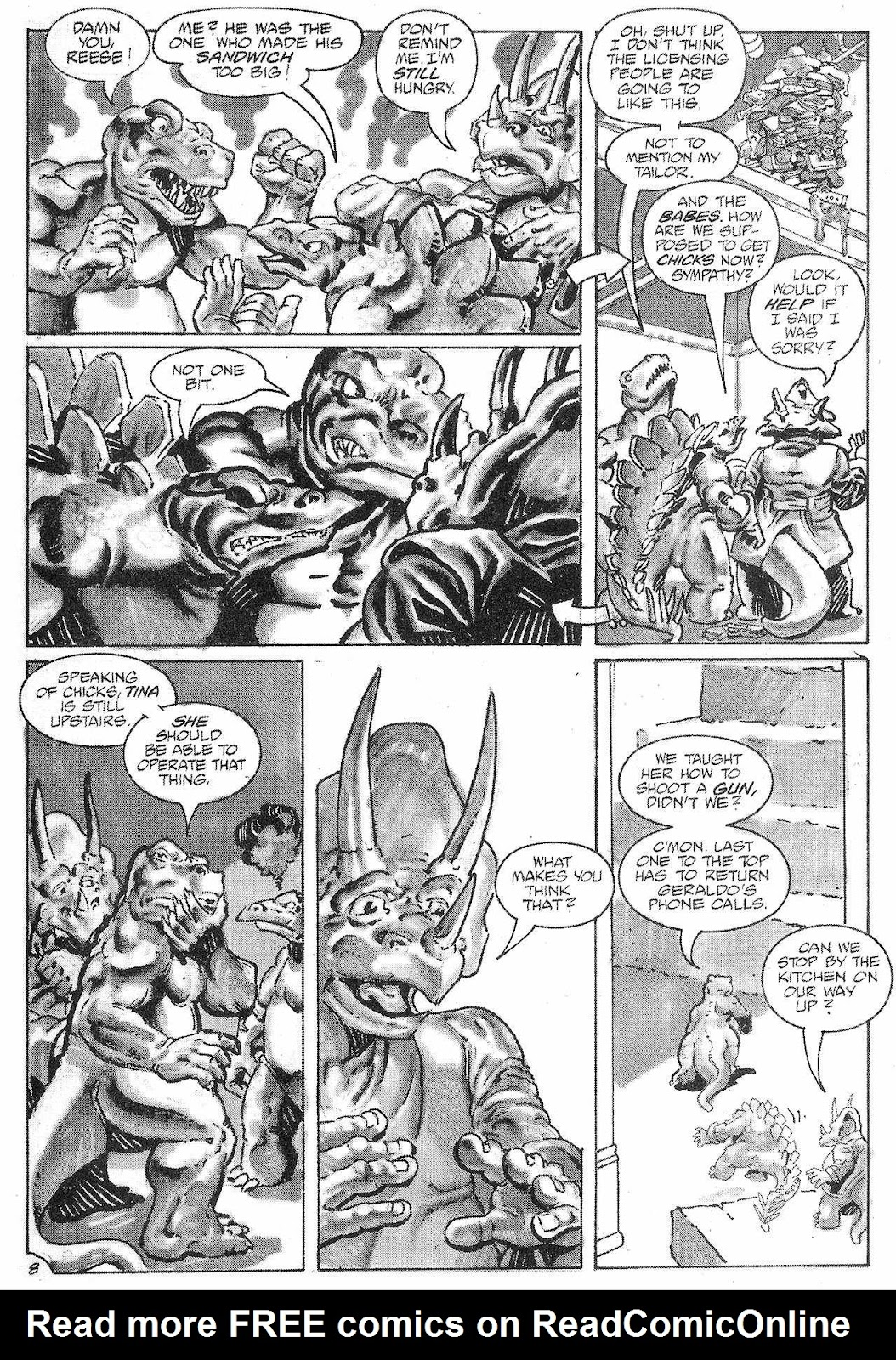 Dinosaurs For Hire (1988) issue 6 - Page 10