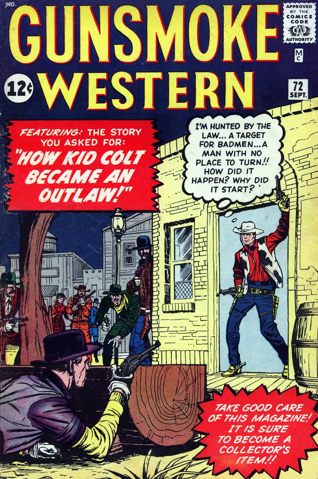 Gunsmoke Western issue 72 - Page 1
