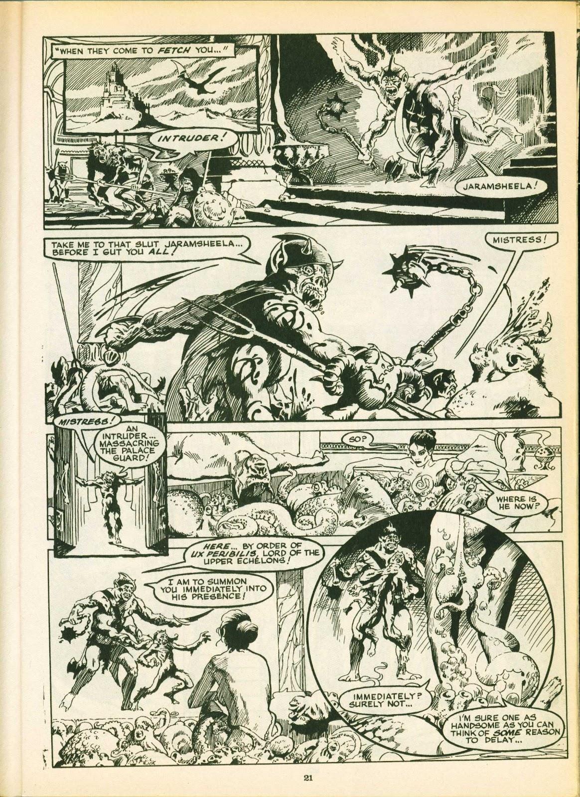 Warrior Issue #18 #19 - English 21