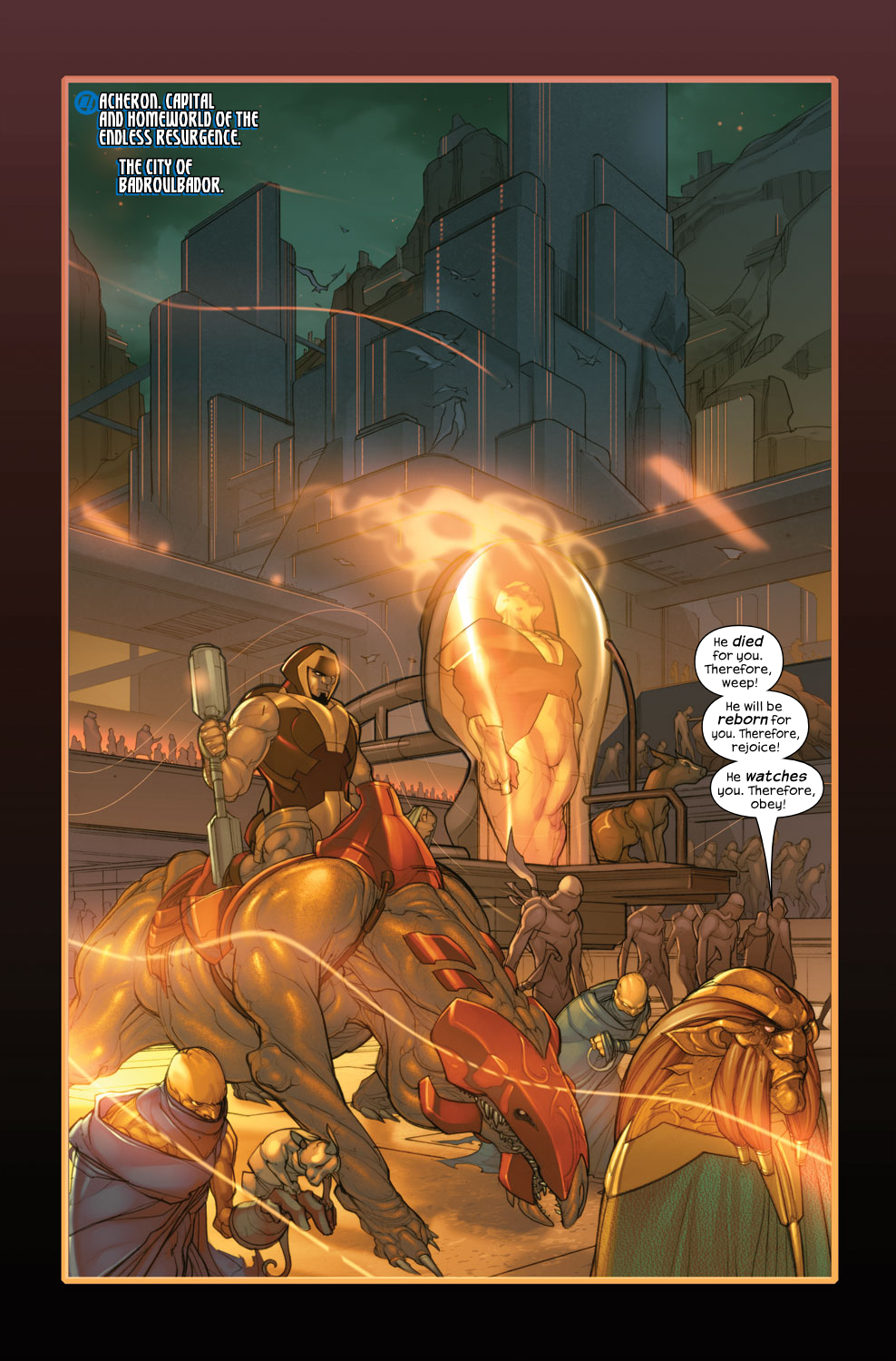 Read online Ultimate Fantastic Four (2004) comic -  Issue #35 - 3