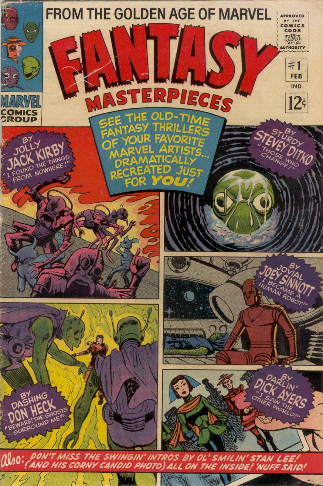 Fantasy Masterpieces 1 Page 1