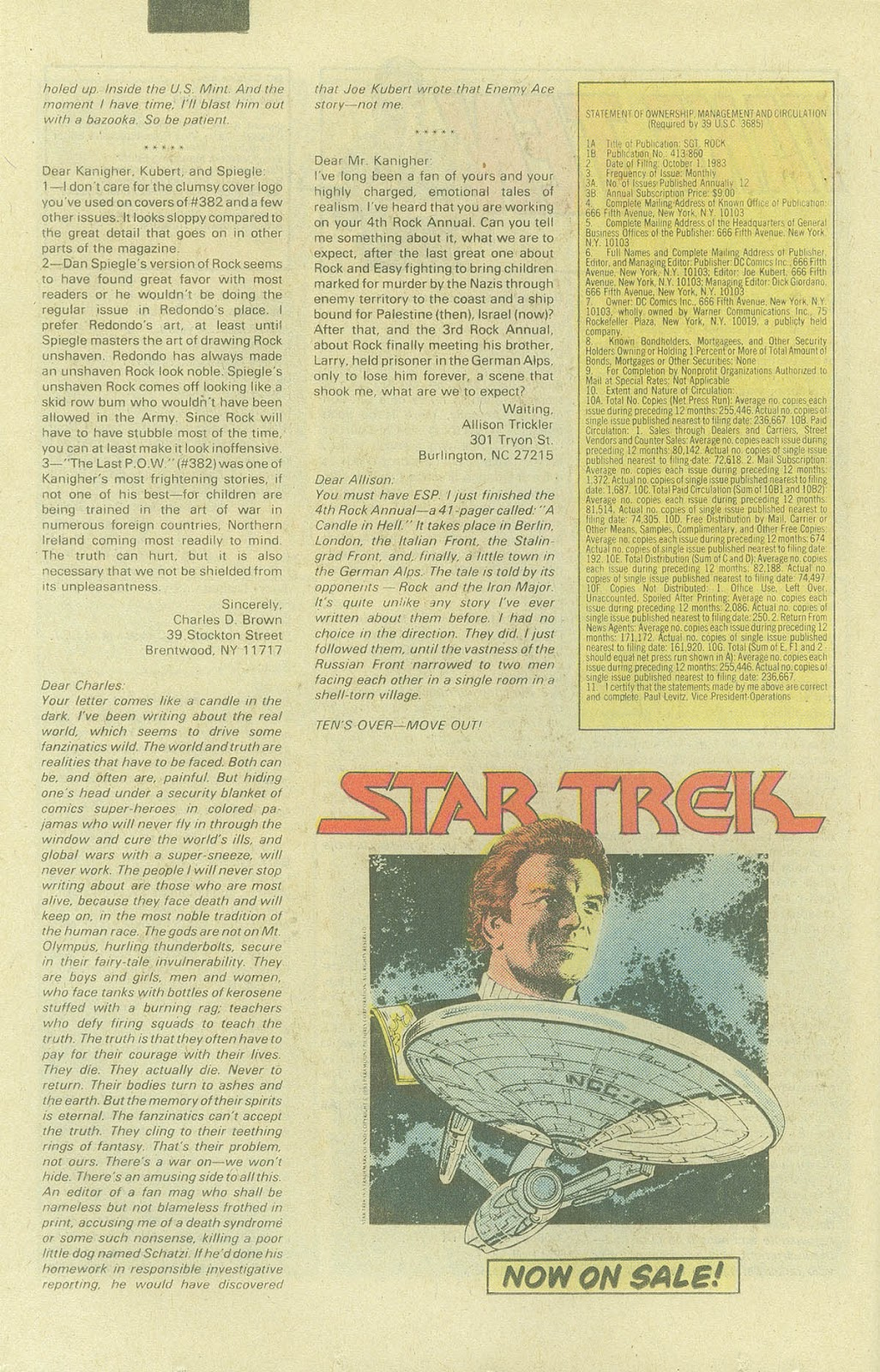 Sgt. Rock issue 387 - Page 21