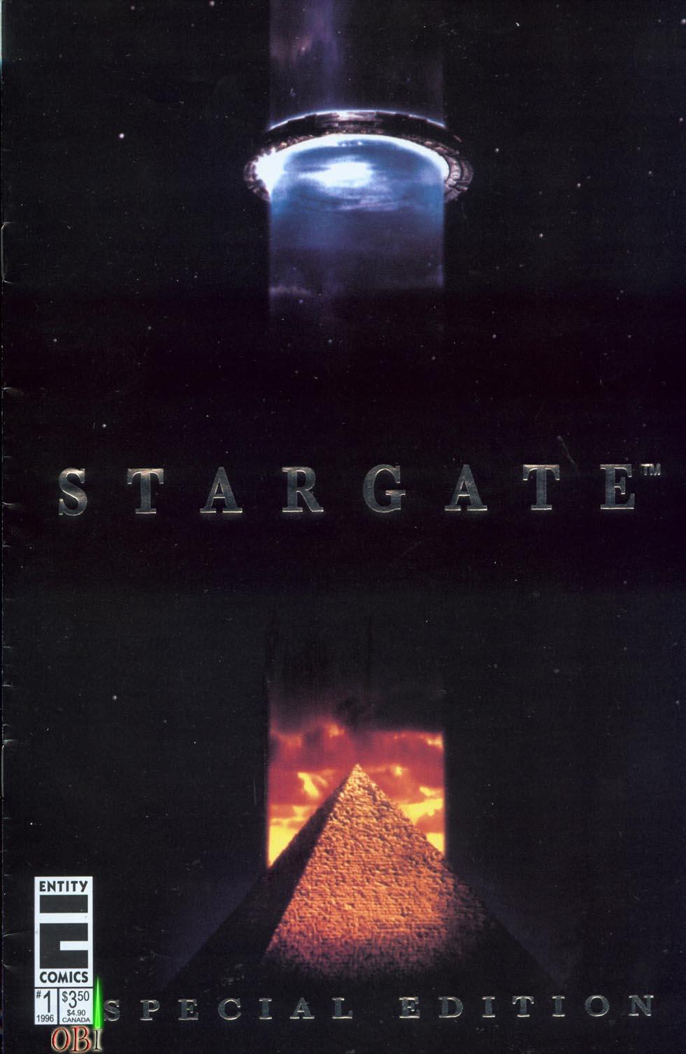 Read online Stargate comic -  Issue #1 - 1