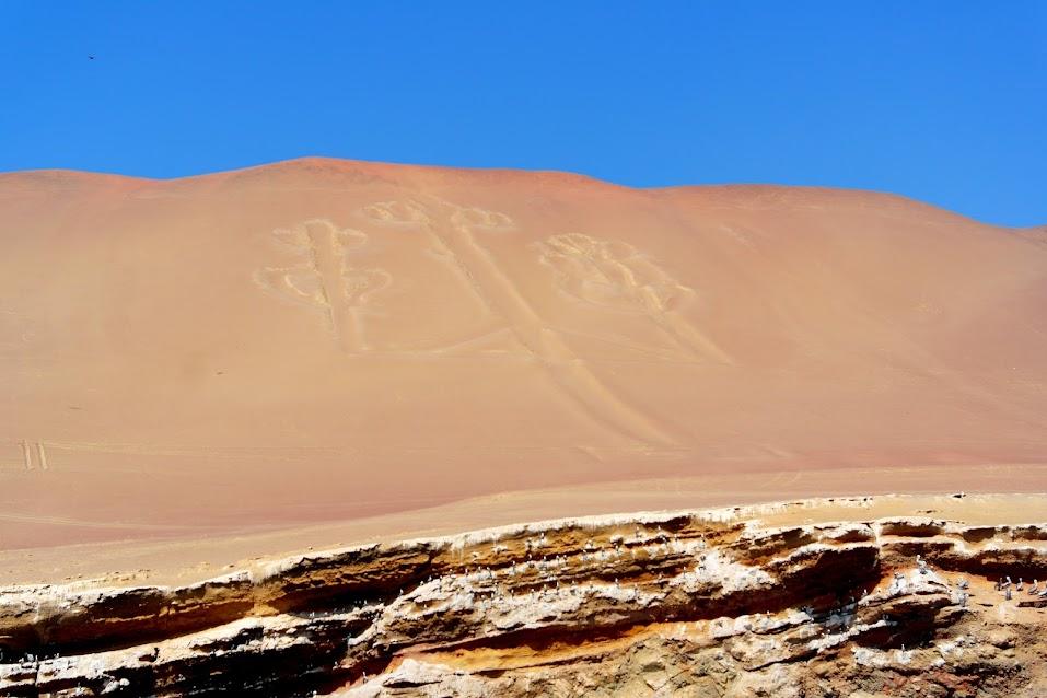 candelabra geoglyph peru